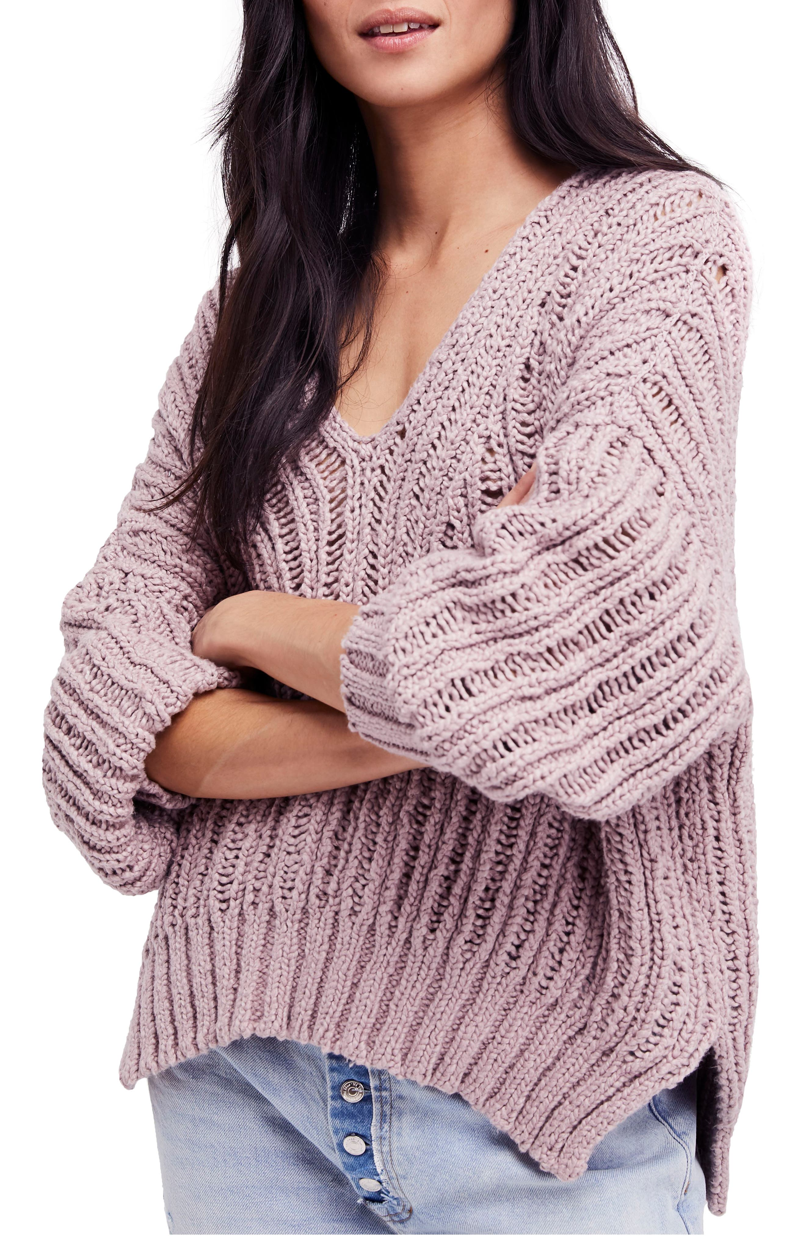 Infinite V-Neck Sweater,                             Main thumbnail 1, color,