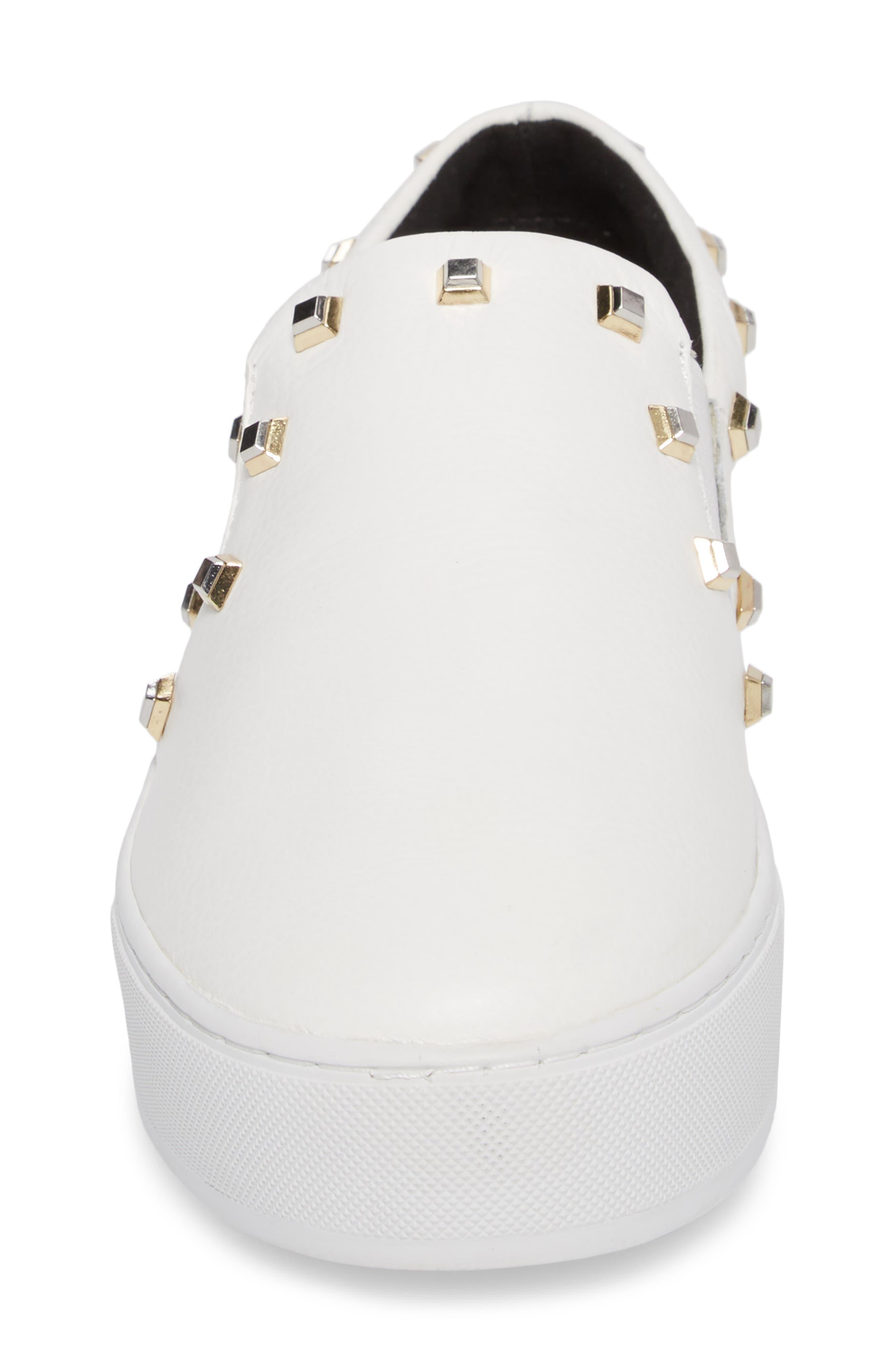 Nora Stud Platform Sneaker,                             Alternate thumbnail 8, color,