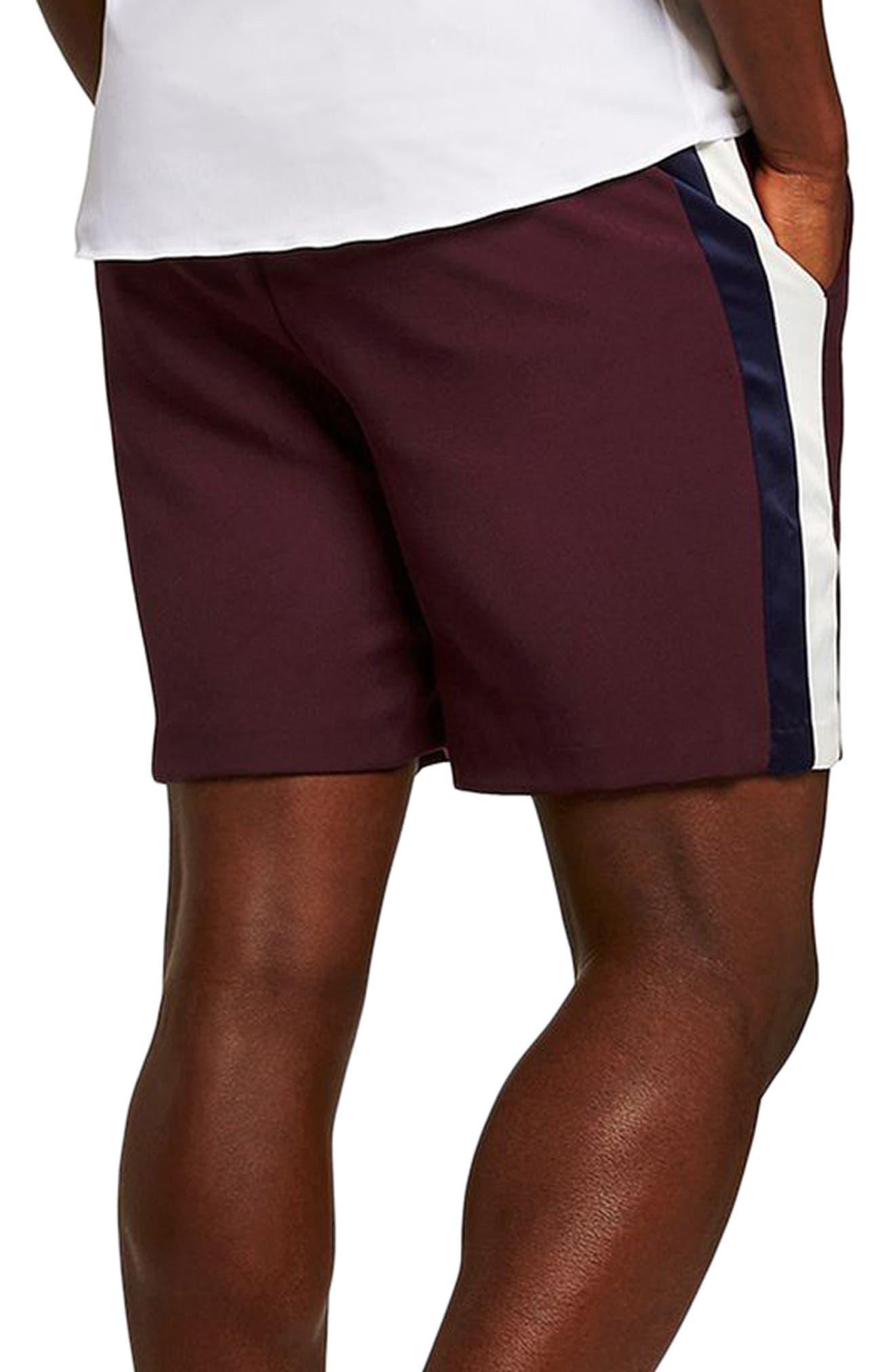 Satin Stripe Shorts,                             Alternate thumbnail 2, color,                             500