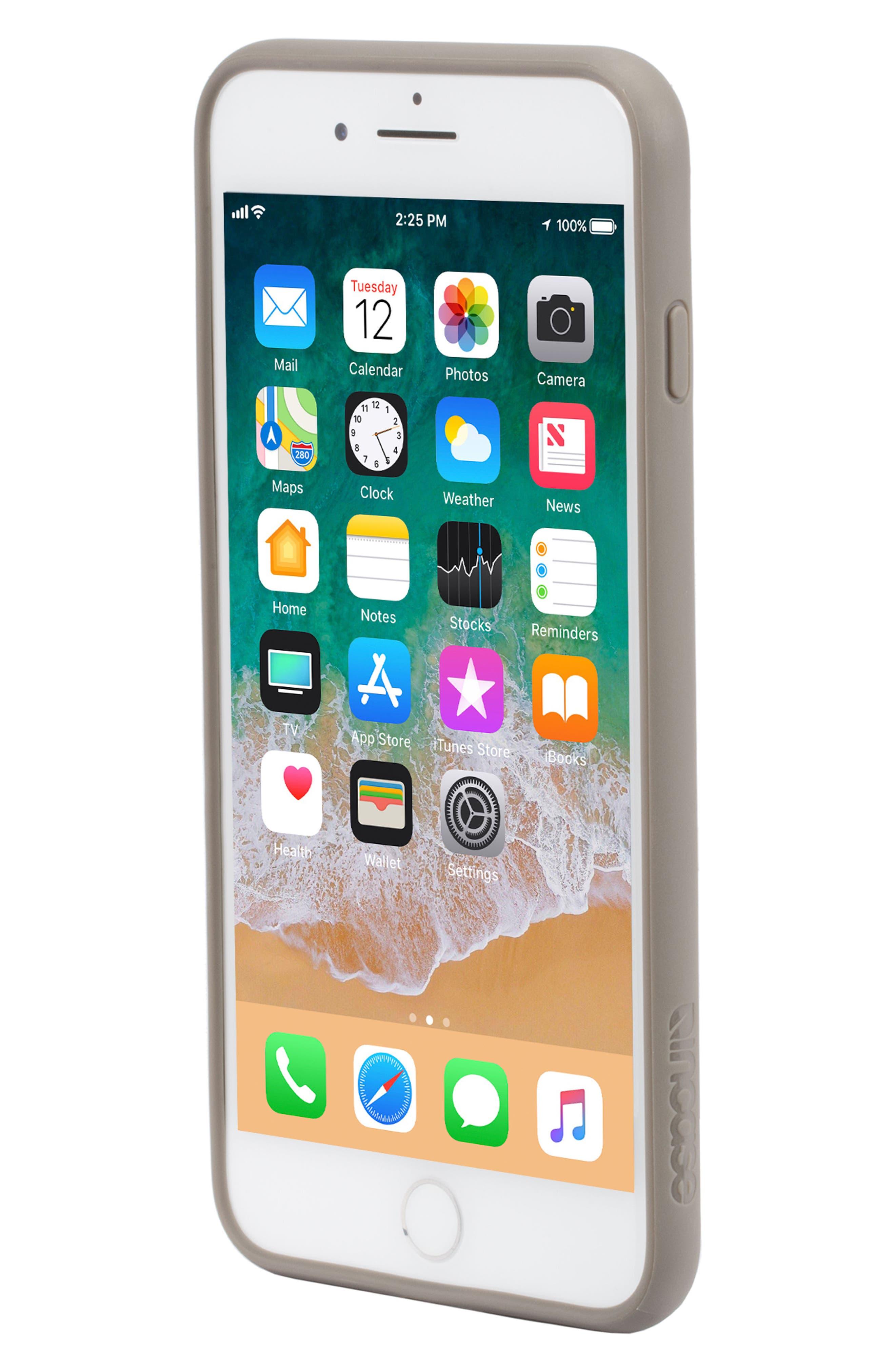 Pop Case Tint iPhone 7 Plus/8 Plus Case,                             Alternate thumbnail 7, color,                             DEEP TAUPE