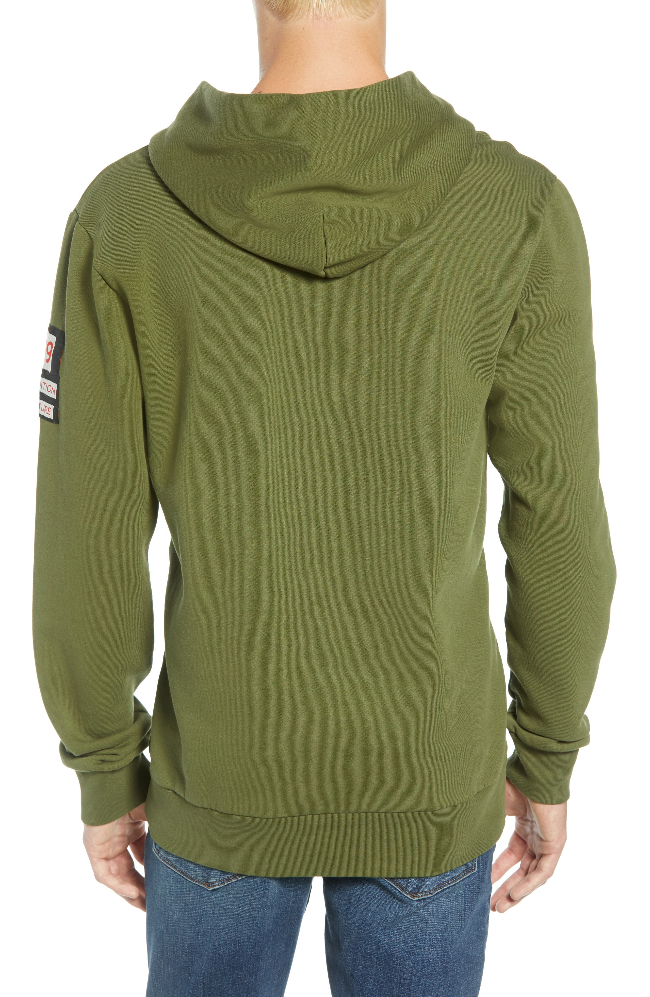 Explorer Clip Buckle Hooded Pullover,                             Alternate thumbnail 2, color,                             COMBO C