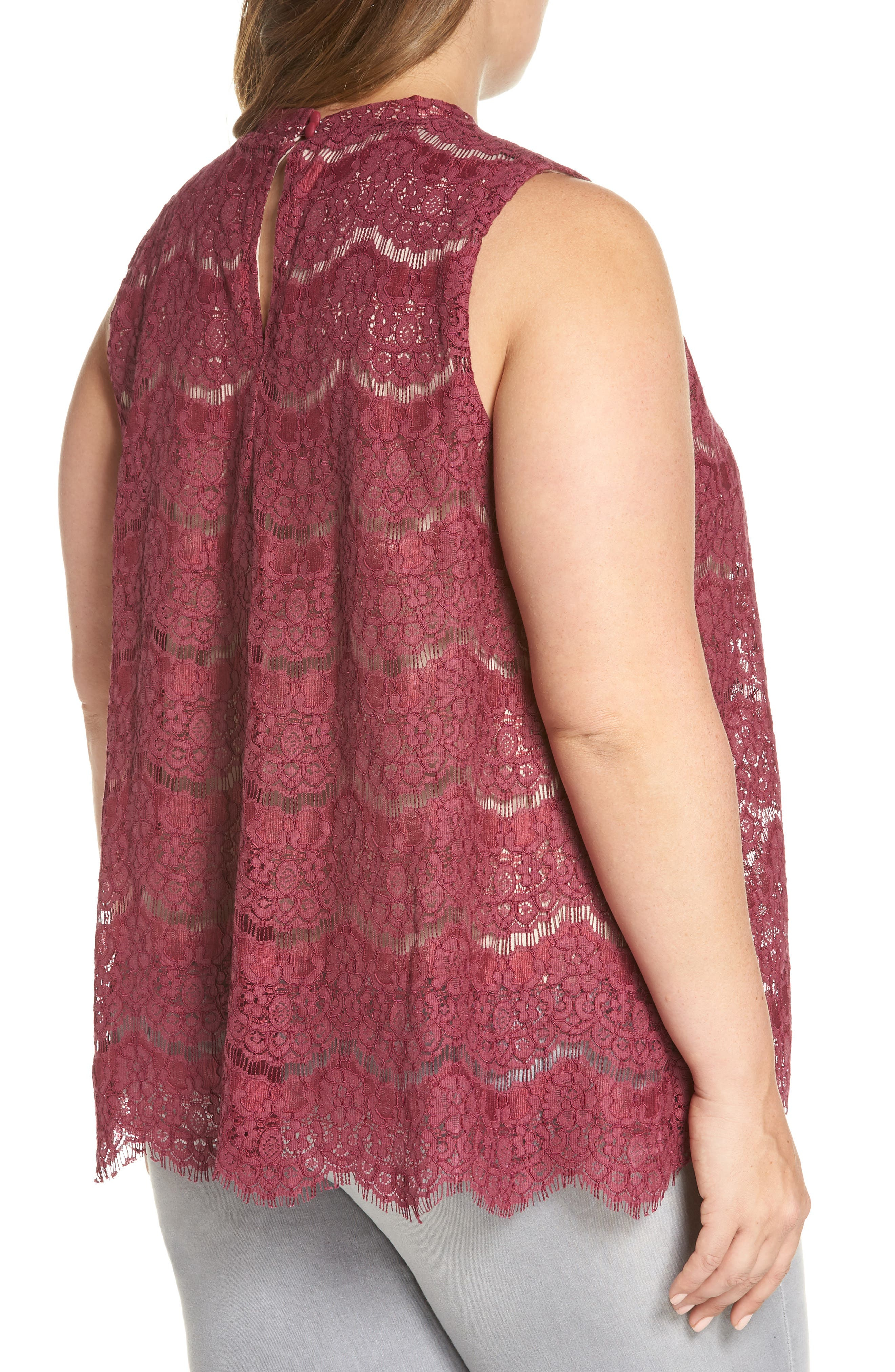 Lace Top,                             Alternate thumbnail 6, color,