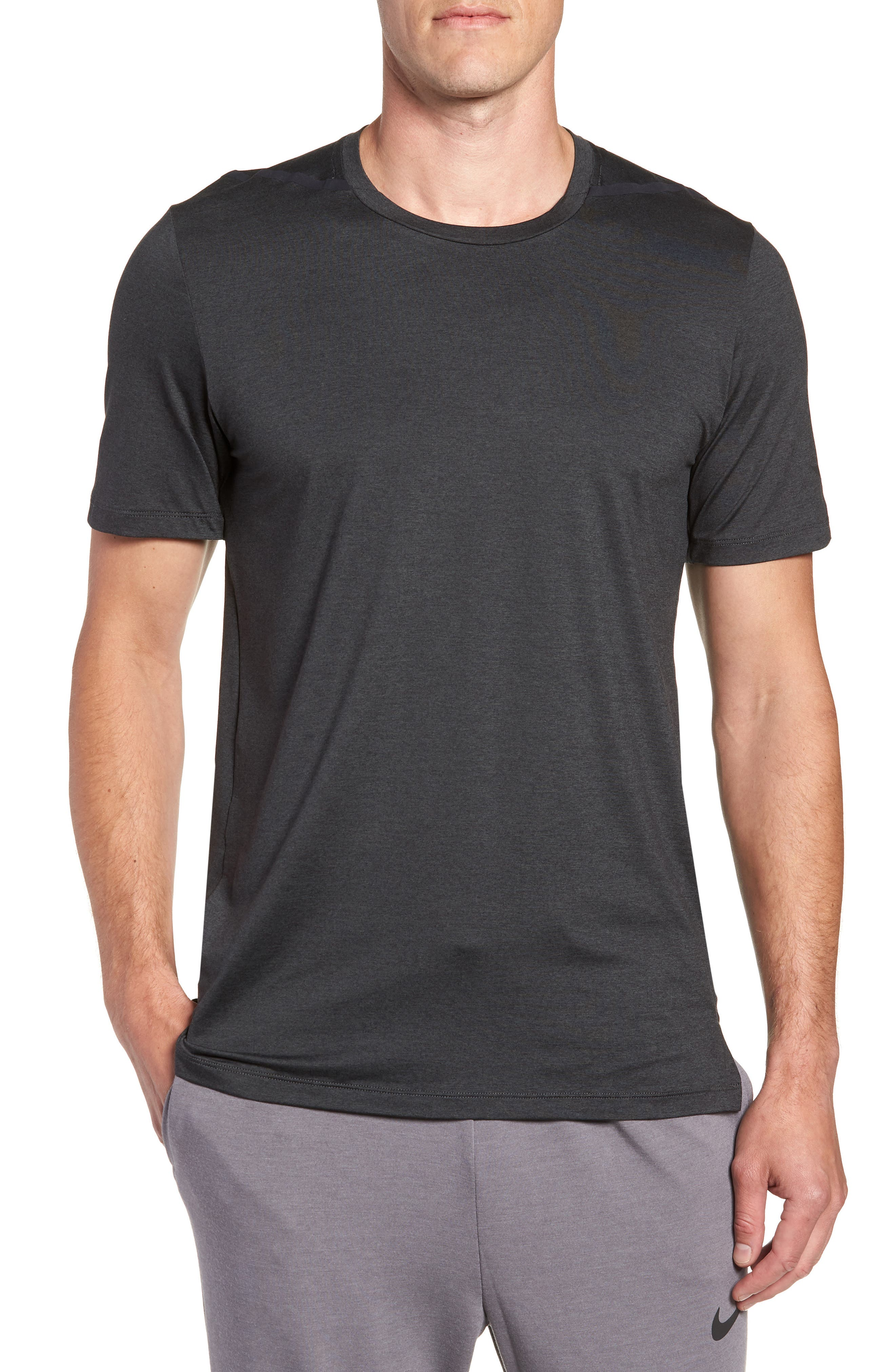 Dry Max Training T-Shirt,                         Main,                         color, BLACK/ ANTHRACITE/ COBALT