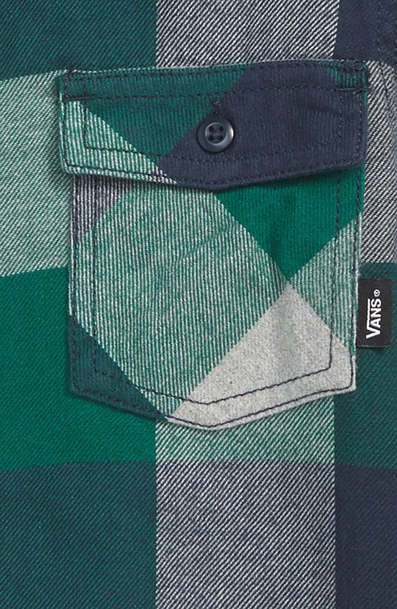Box Check Flannel Shirt,                             Alternate thumbnail 2, color,                             310