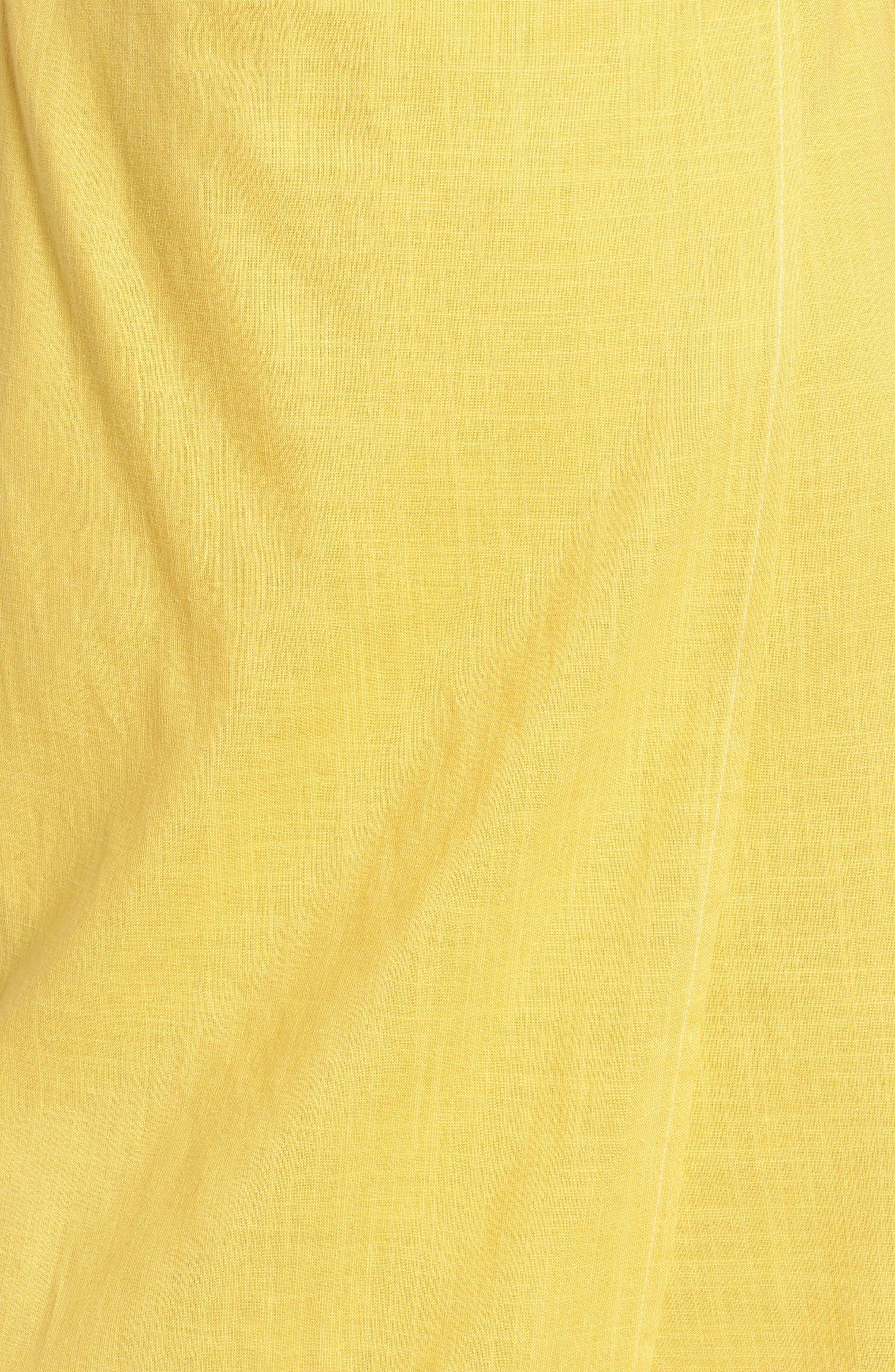 Cutout Midi Dress,                             Alternate thumbnail 5, color,                             700