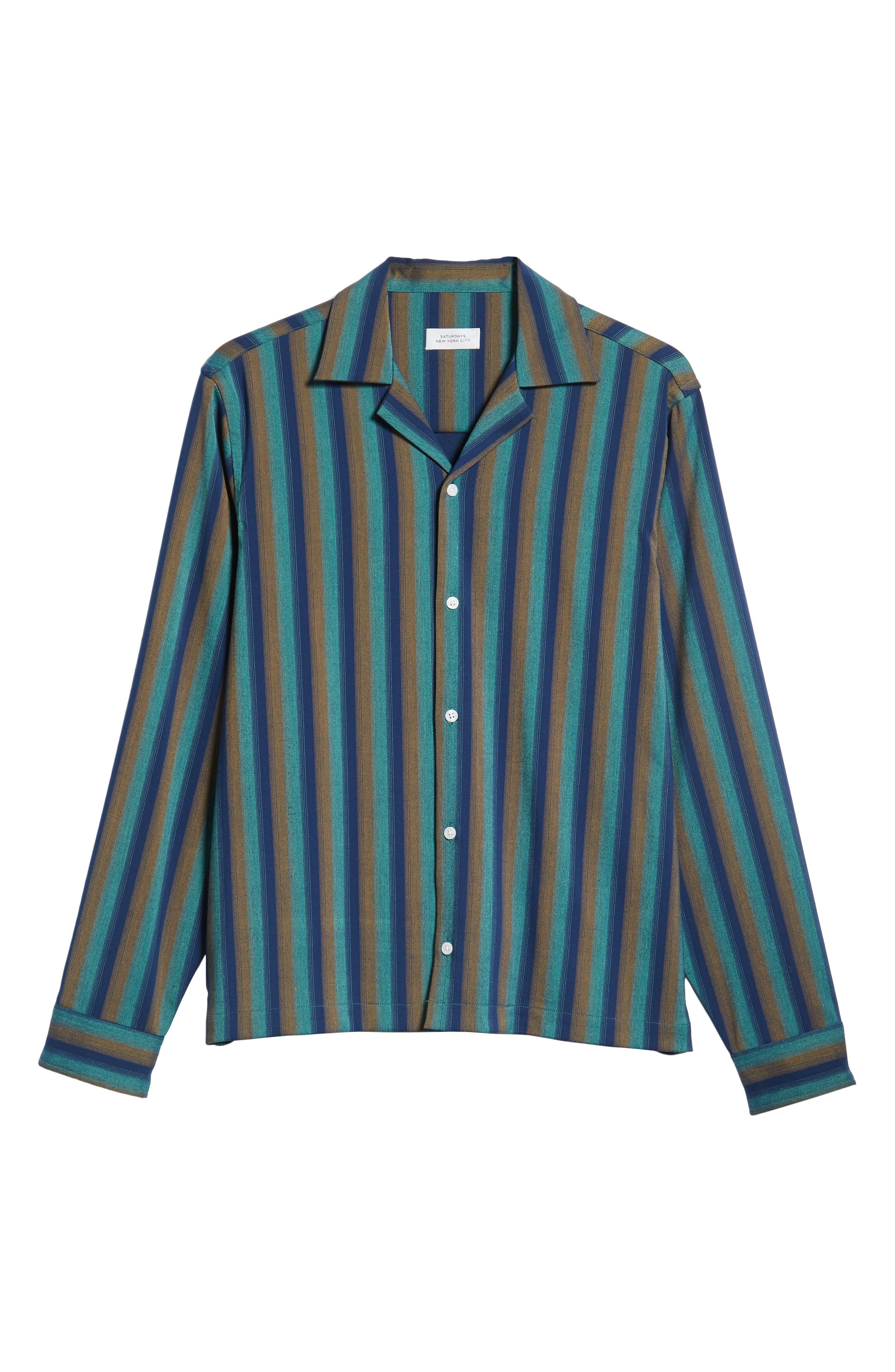 Marco Frequency Long Sleeve Woven Shirt,                             Alternate thumbnail 5, color,                             334