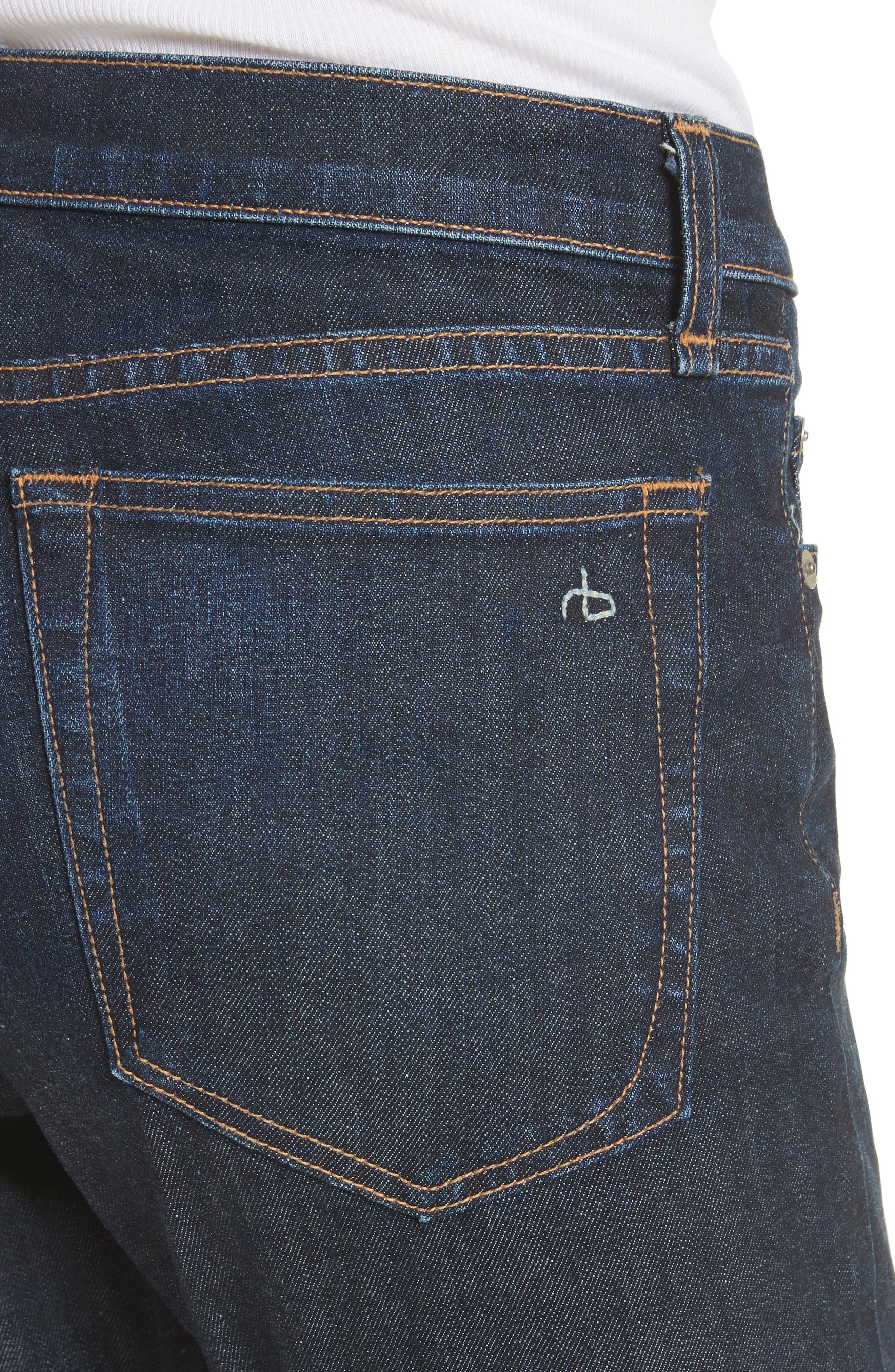 The Dre Slim Boyfriend Jeans,                             Alternate thumbnail 4, color,                             425