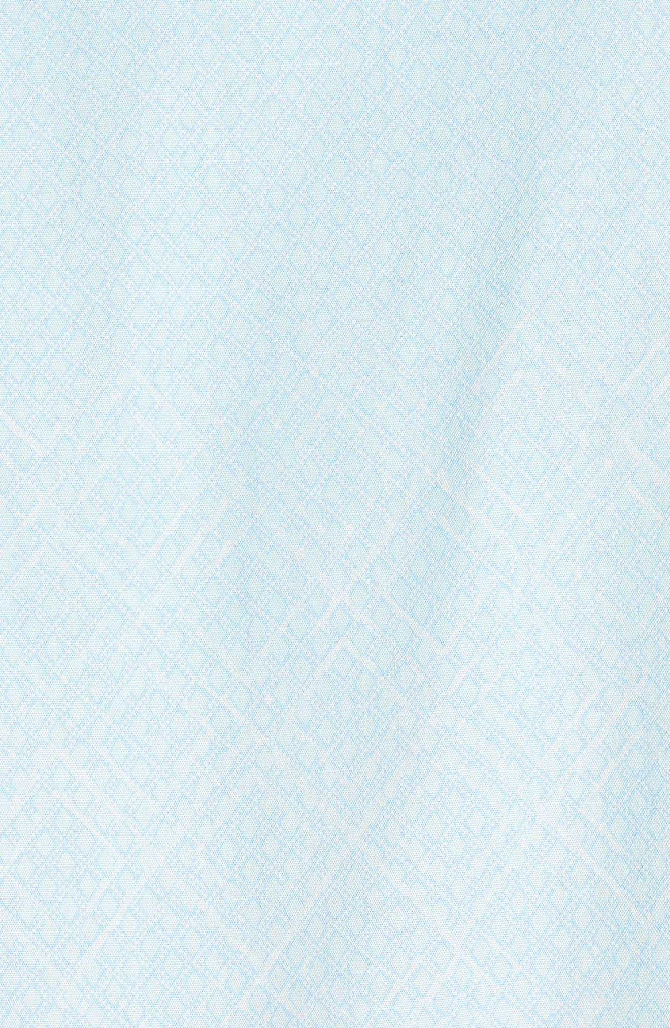 Gradient Diamond Sport Shirt,                             Alternate thumbnail 5, color,                             330
