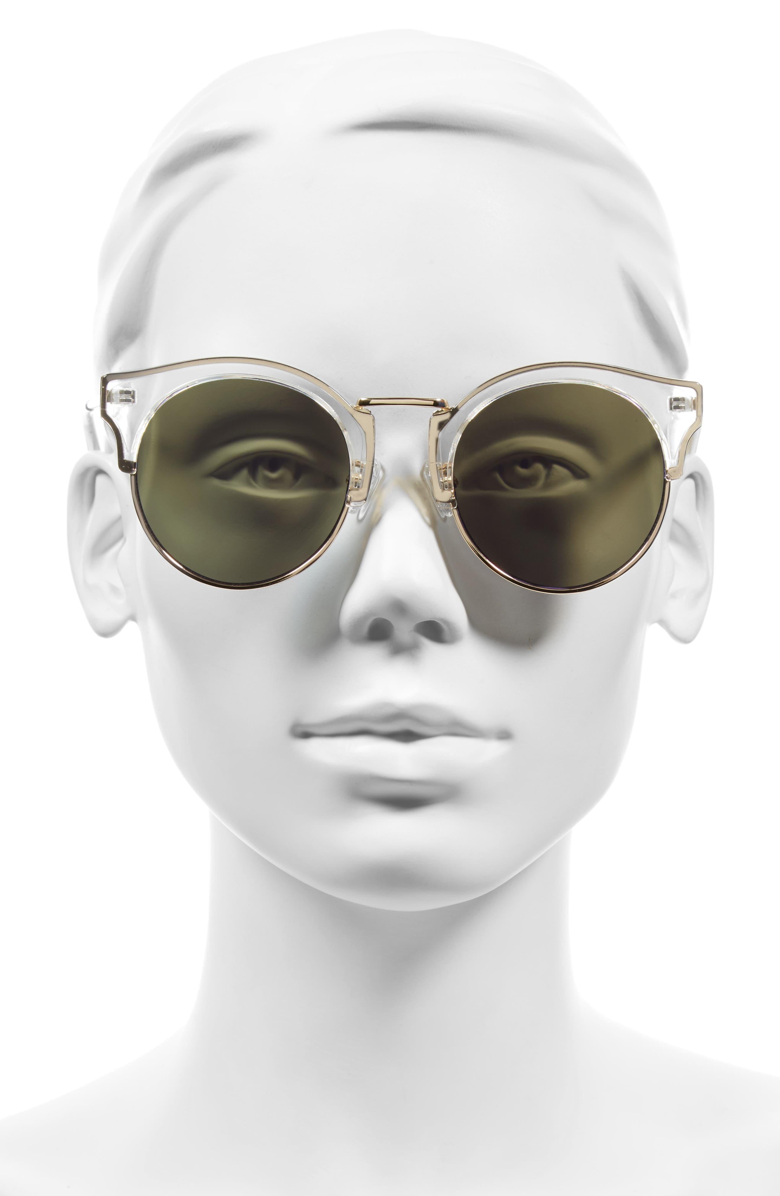 Broadway 51mm Retro Sunglasses,                             Alternate thumbnail 5, color,