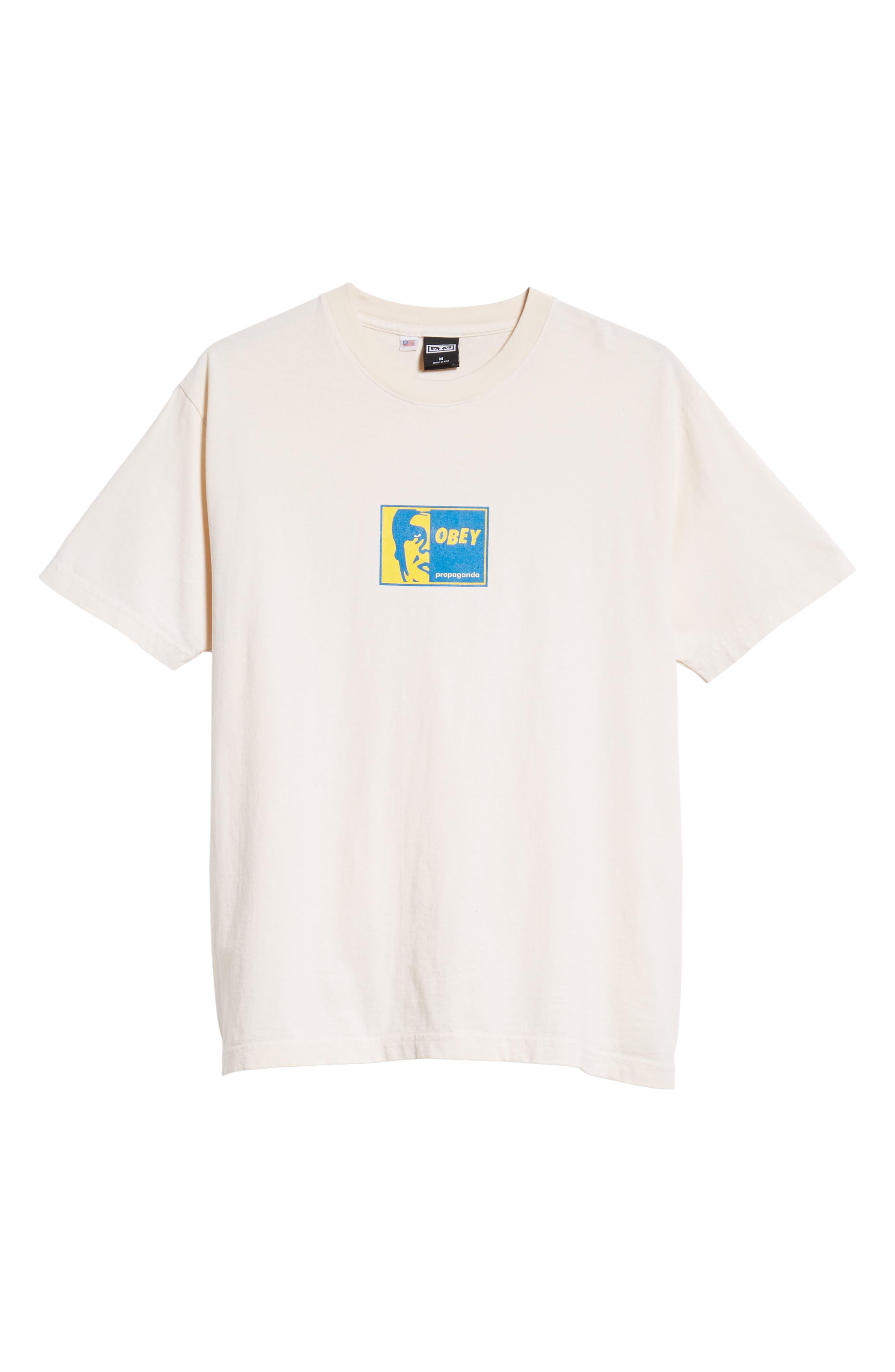 Slap On Box T-Shirt,                             Alternate thumbnail 6, color,                             CREAM