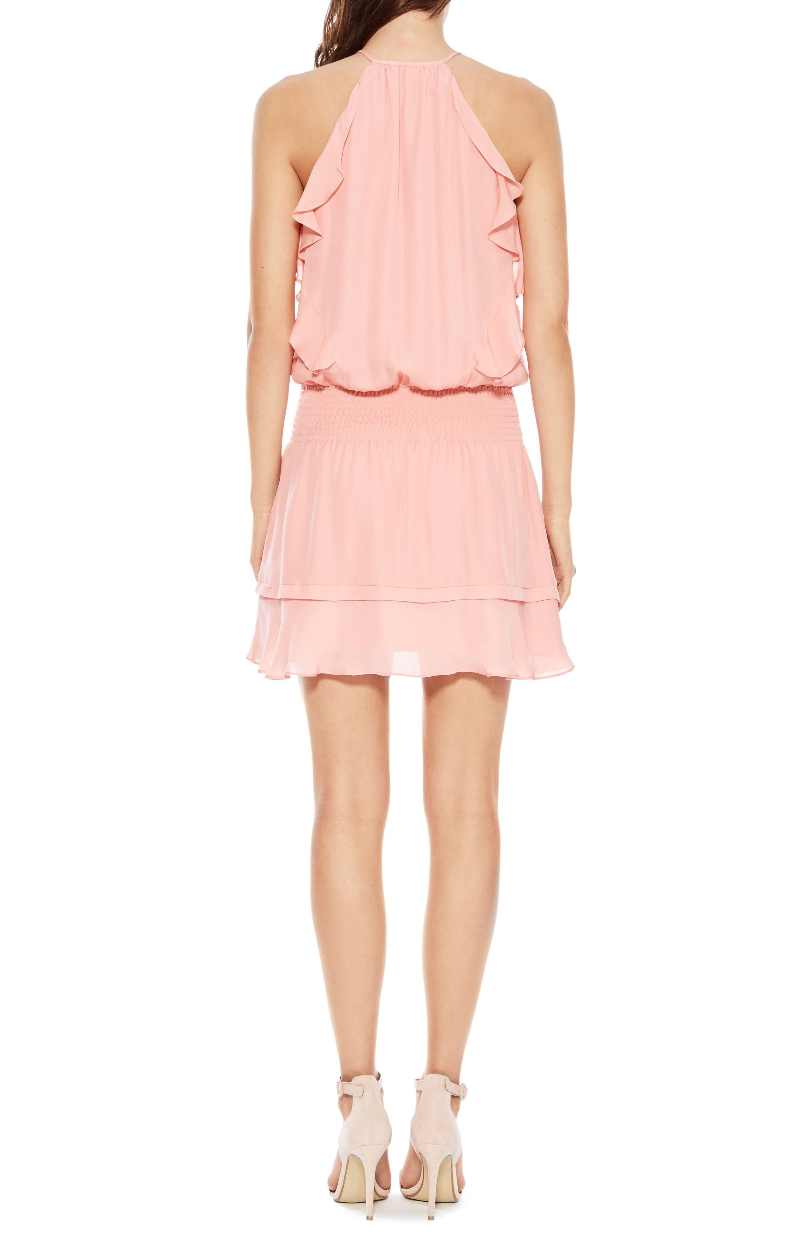 PARKER,                             Williame Silk Dress,                             Alternate thumbnail 2, color,                             697