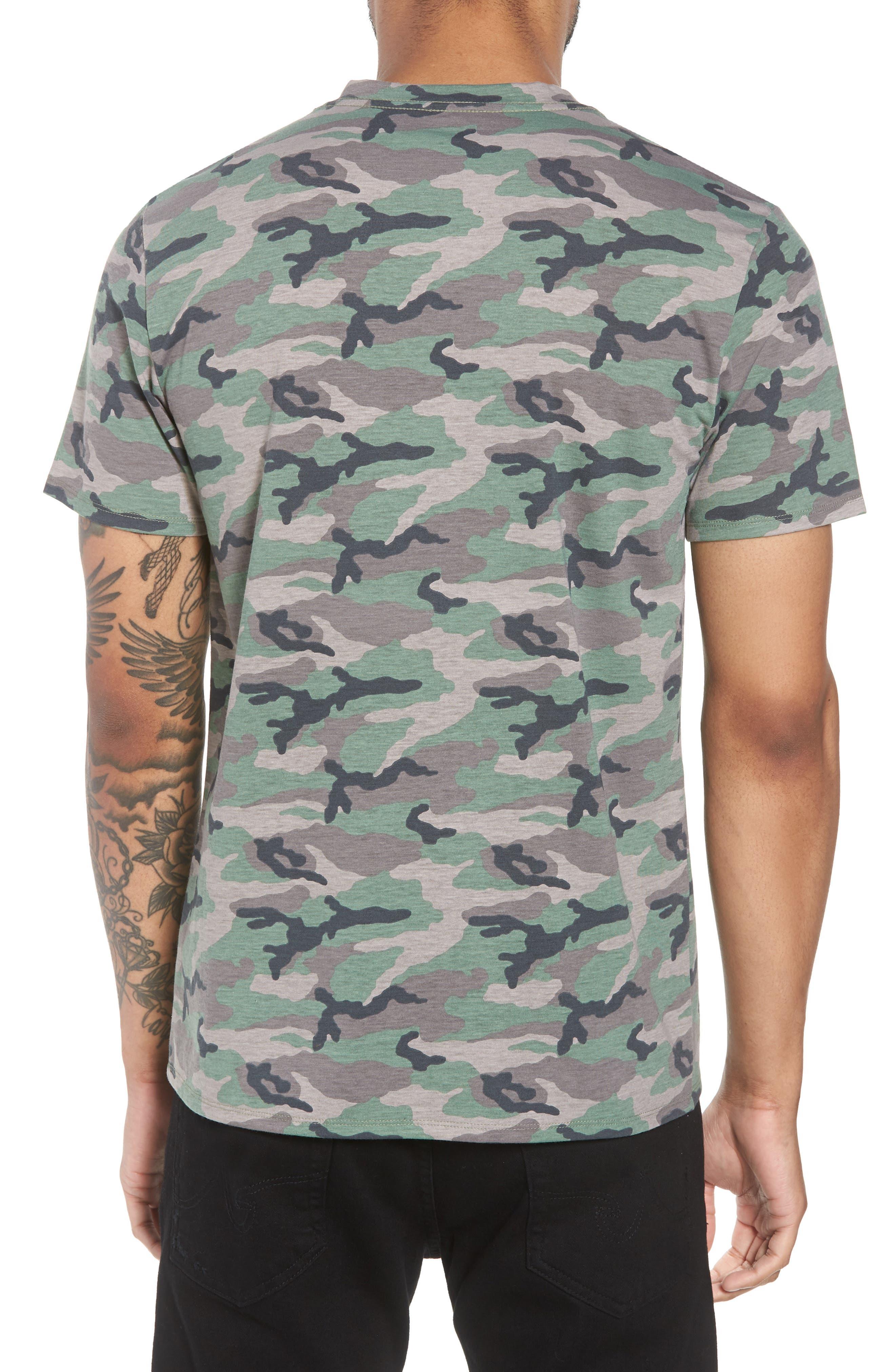 V-Neck T-Shirt,                             Alternate thumbnail 2, color,                             210