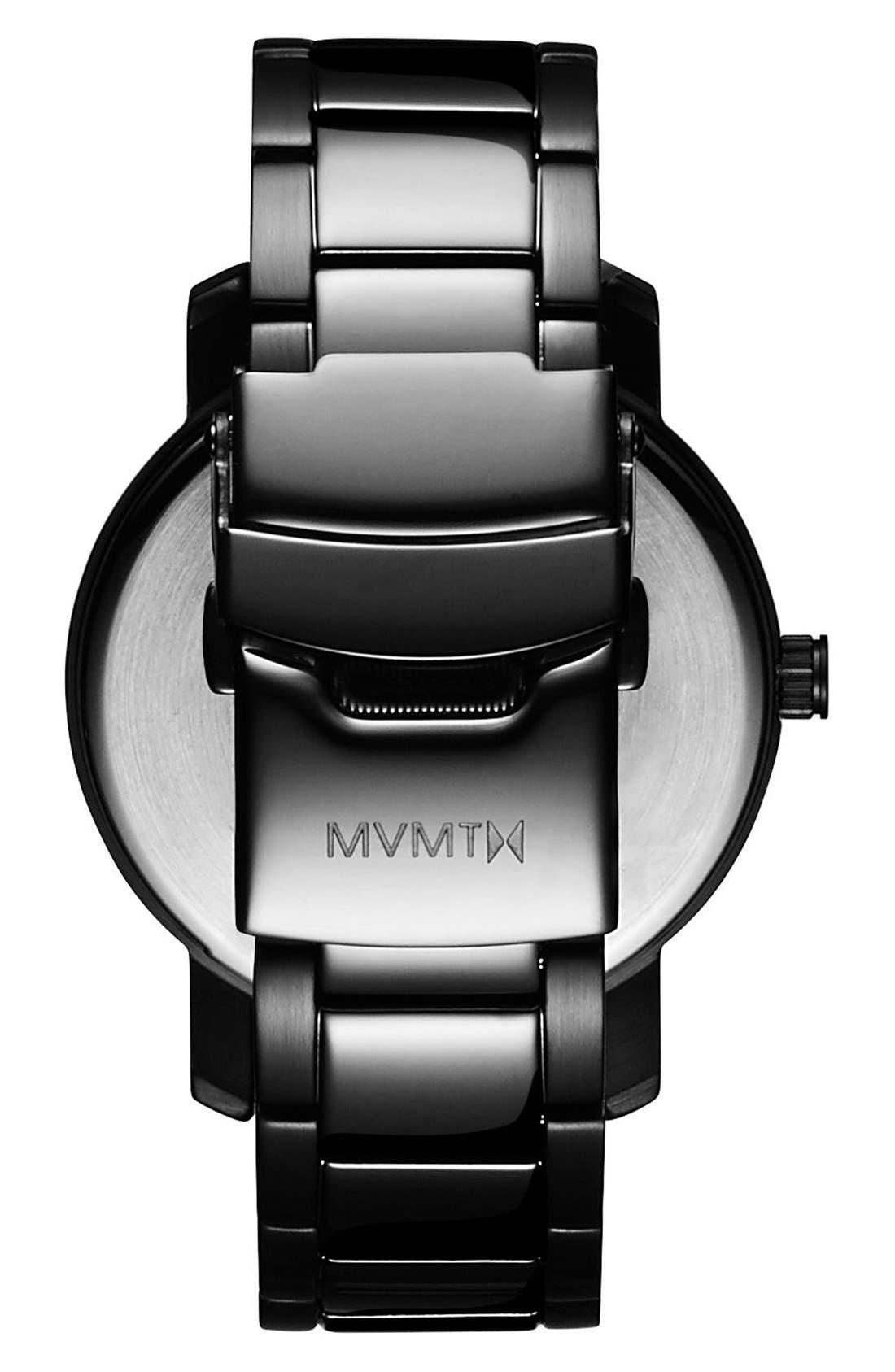 Bracelet Watch, 38mm,                             Alternate thumbnail 2, color,                             BLACK