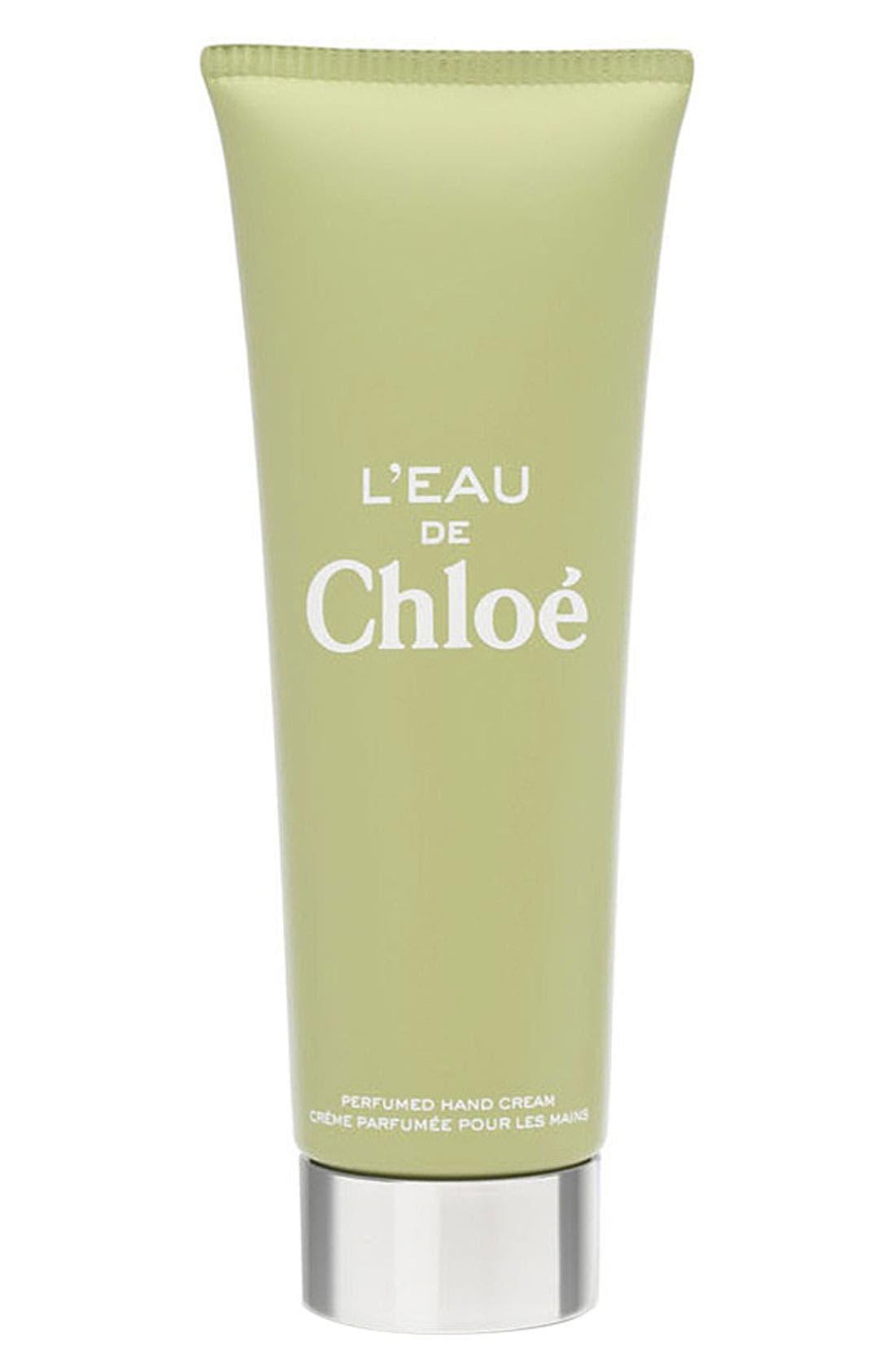 'L'Eau de Chloé' Hand Cream,                             Main thumbnail 1, color,                             000