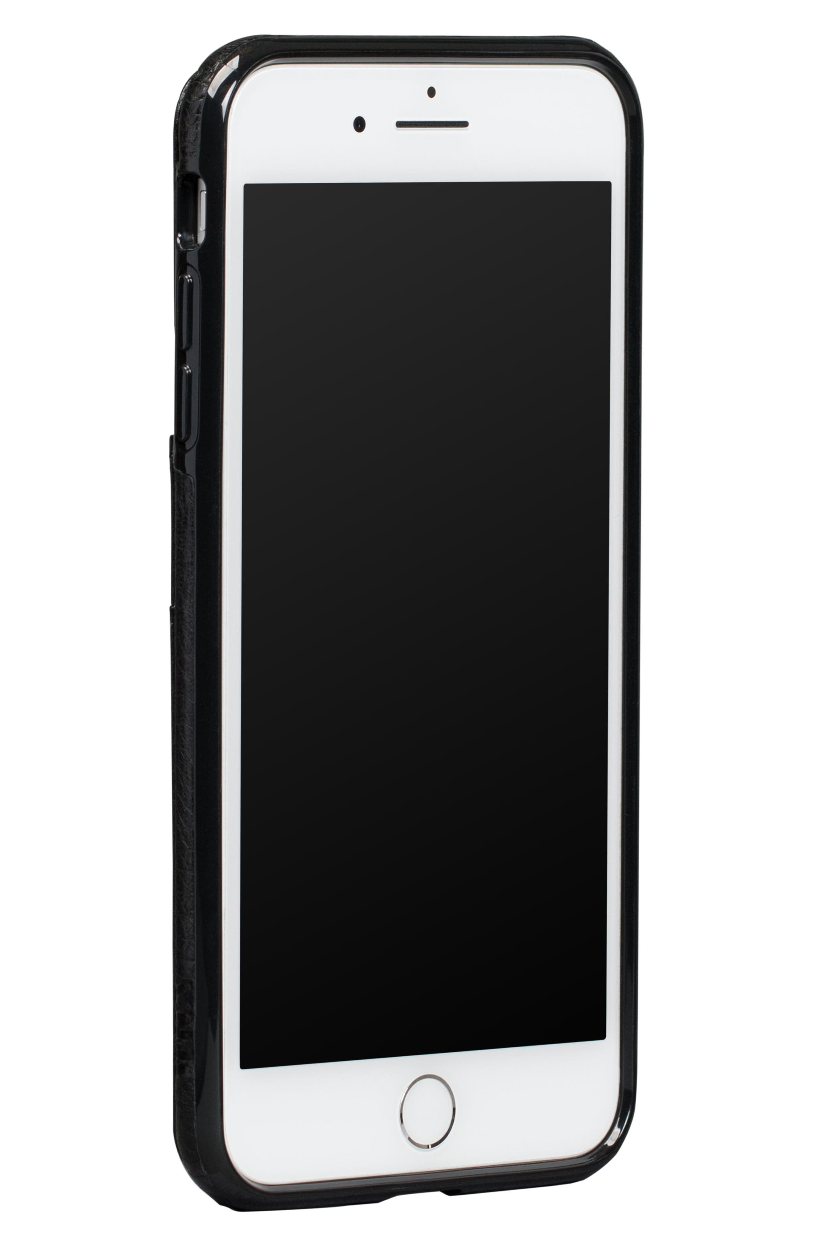 SENA,                             Bence Lugano iPhone 7/8 Plus Wallet Case,                             Alternate thumbnail 3, color,                             001