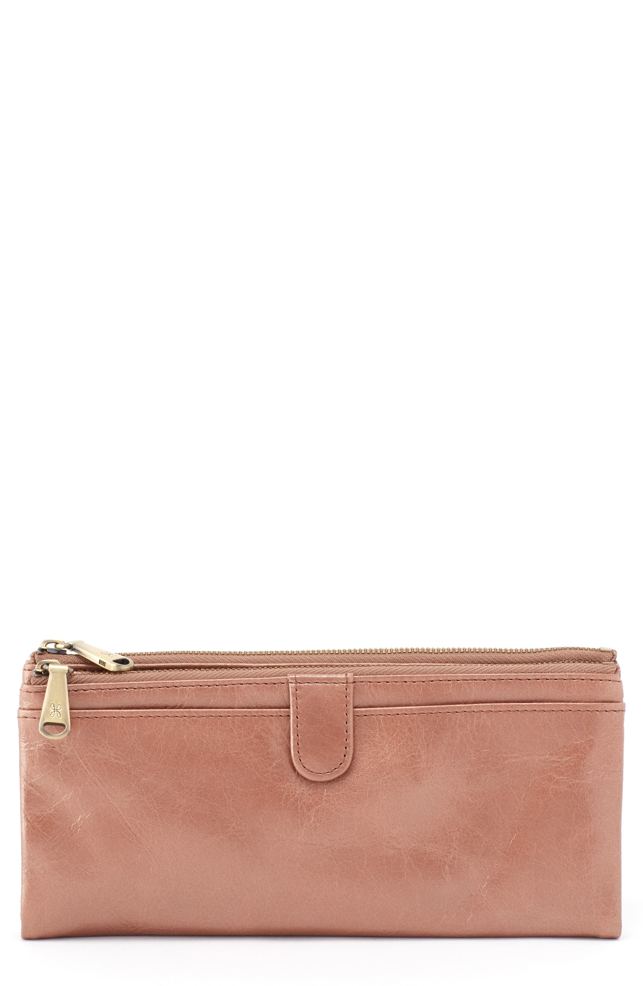 Taylor Glazed Wallet,                         Main,                         color, CAMEO