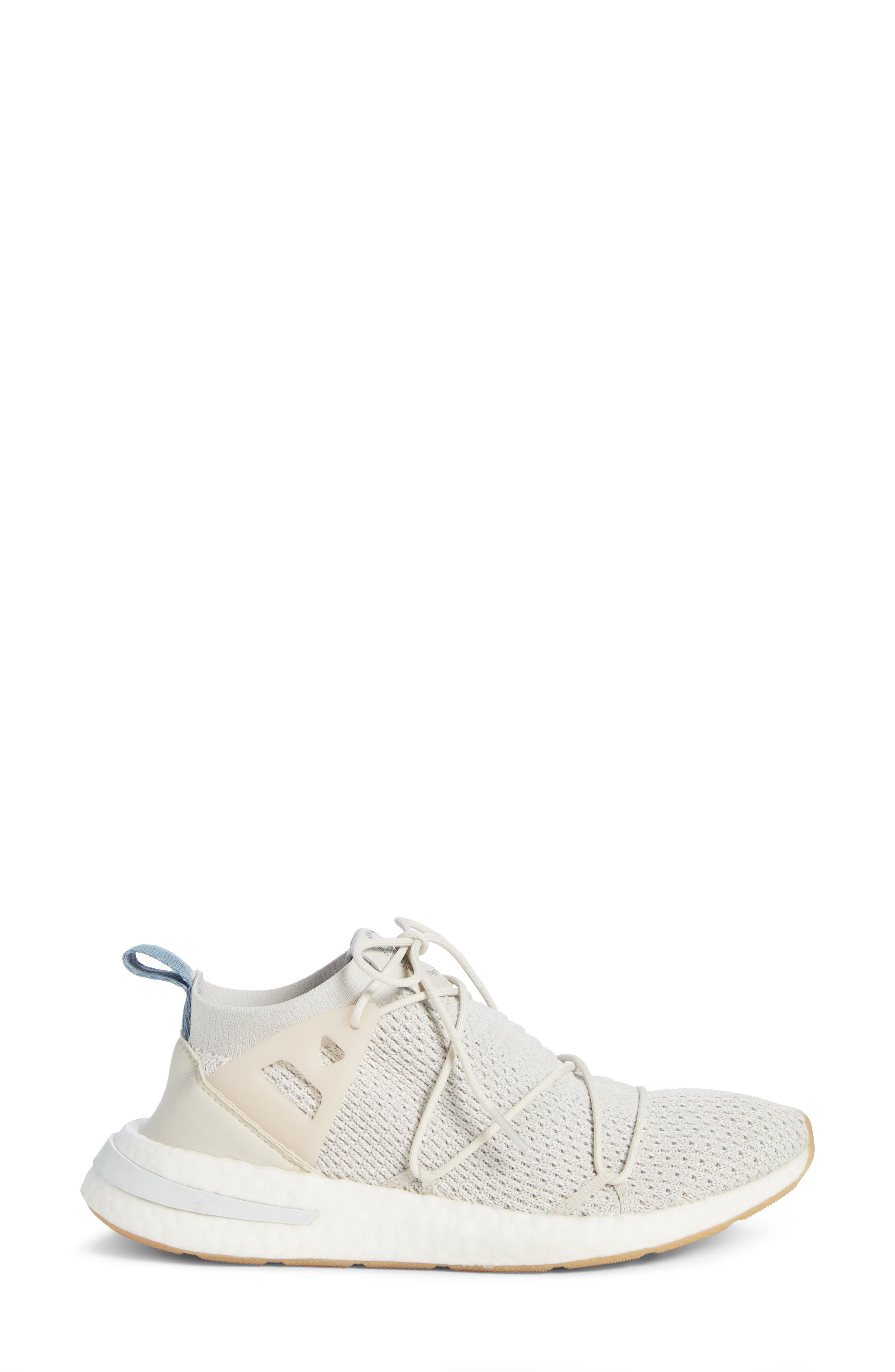 Arkyn Primeknit Sneaker,                             Alternate thumbnail 3, color,                             TALC/ TALC/ LINEN