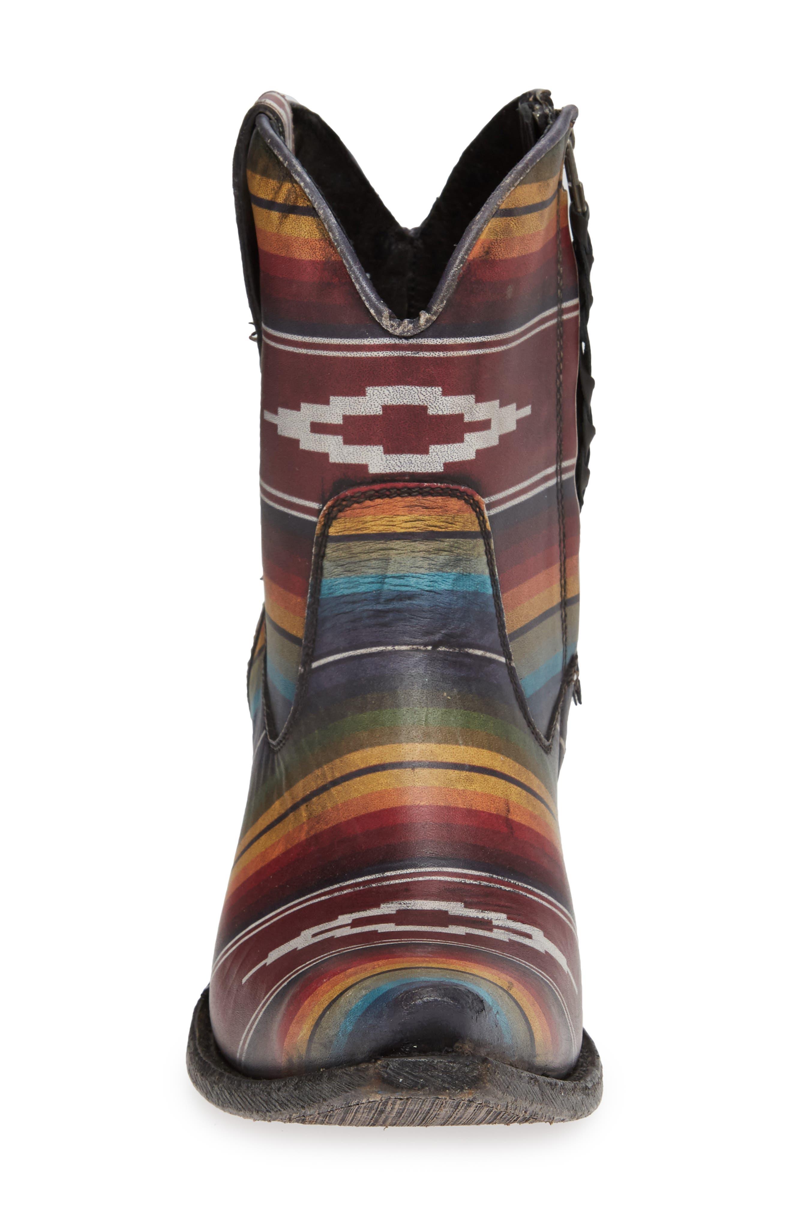 Circuit Cruz Western Boot,                             Alternate thumbnail 4, color,                             SADDLE BLANKET LEATHER