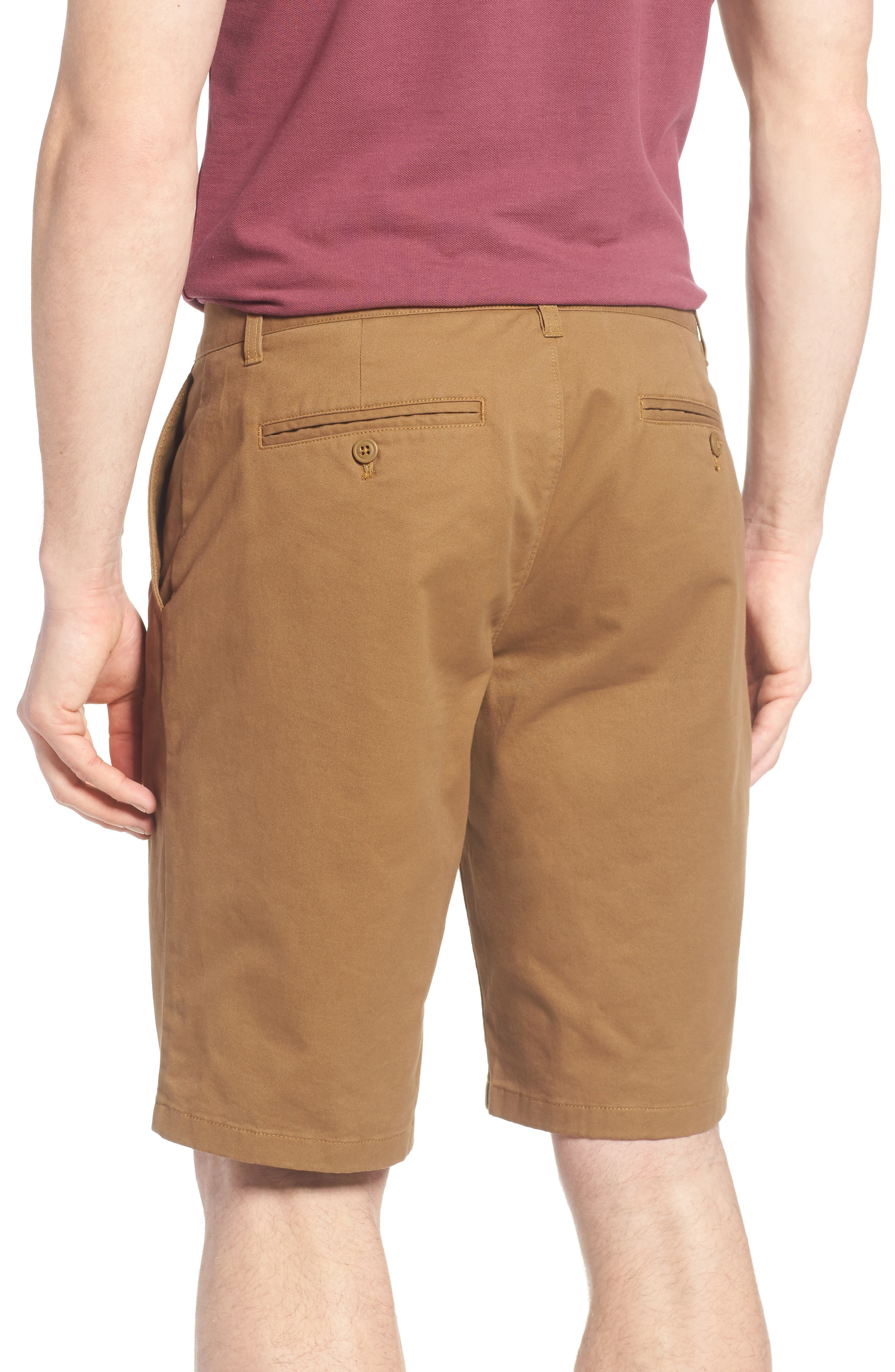 Stretch Washed Chino 11-Inch Shorts,                             Alternate thumbnail 37, color,