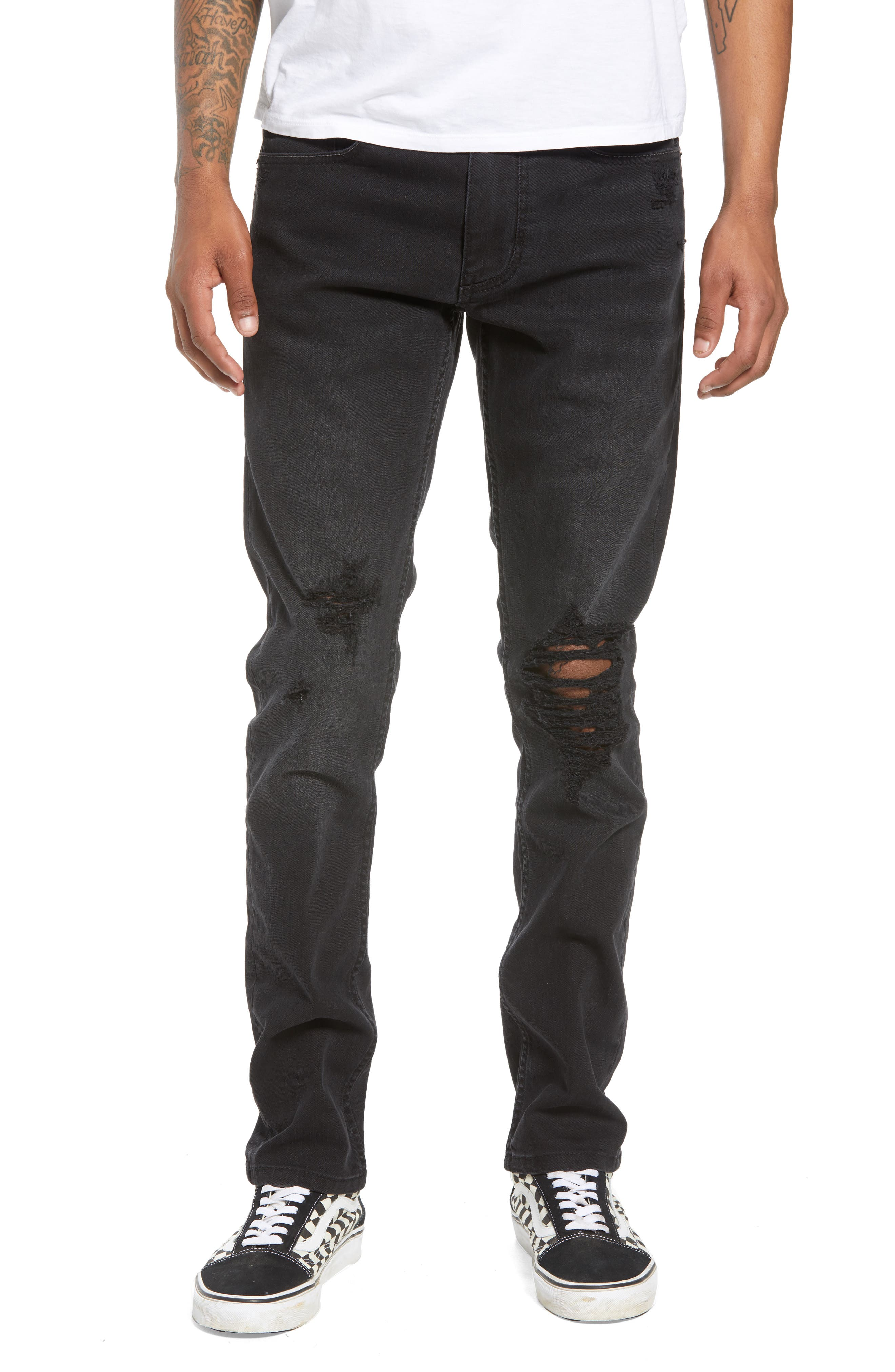 BLANKNYC Wooster Slim Fit Jeans, Main, color, 002