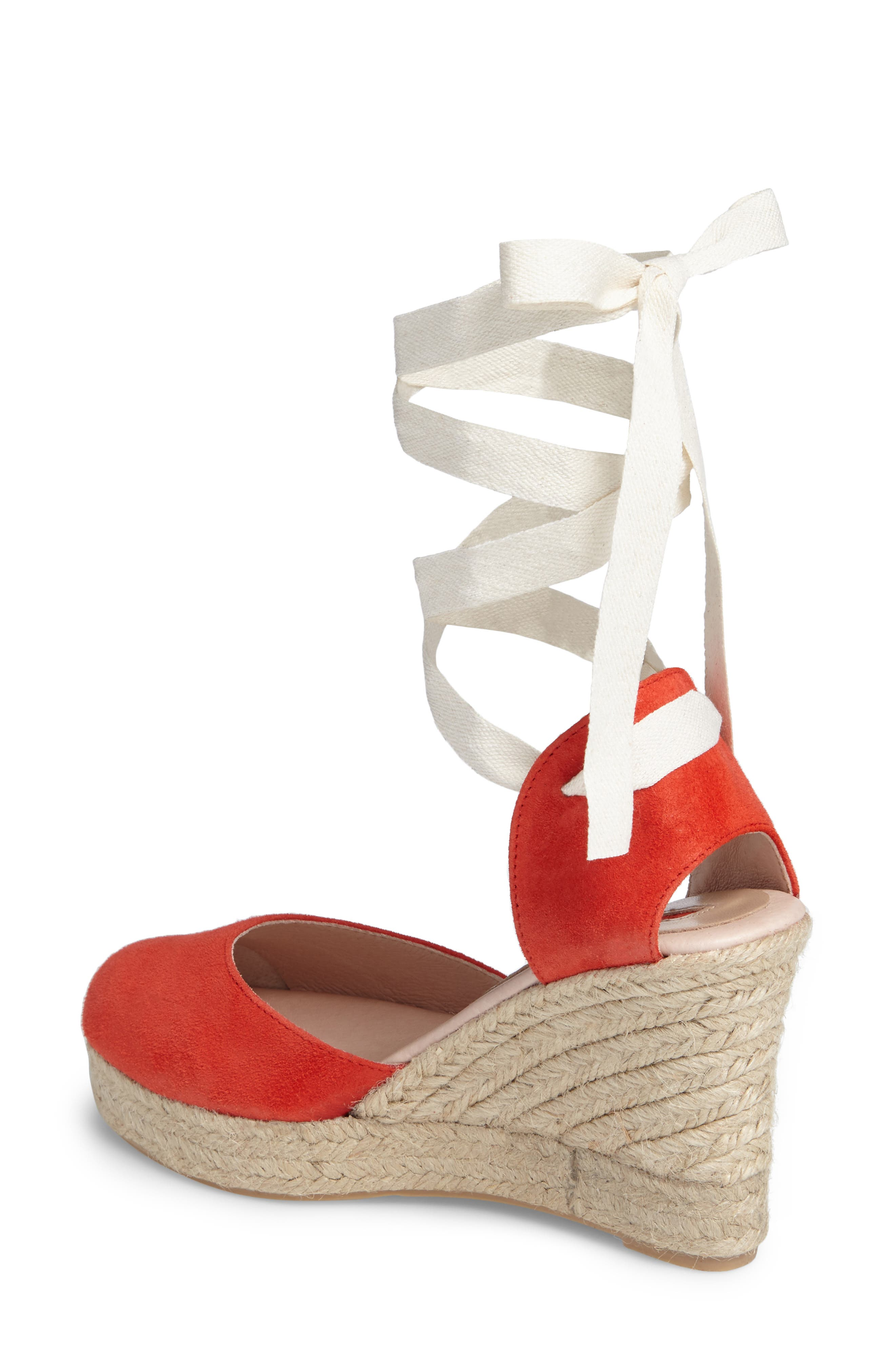Warmth Espadrille Wedge,                             Alternate thumbnail 4, color,