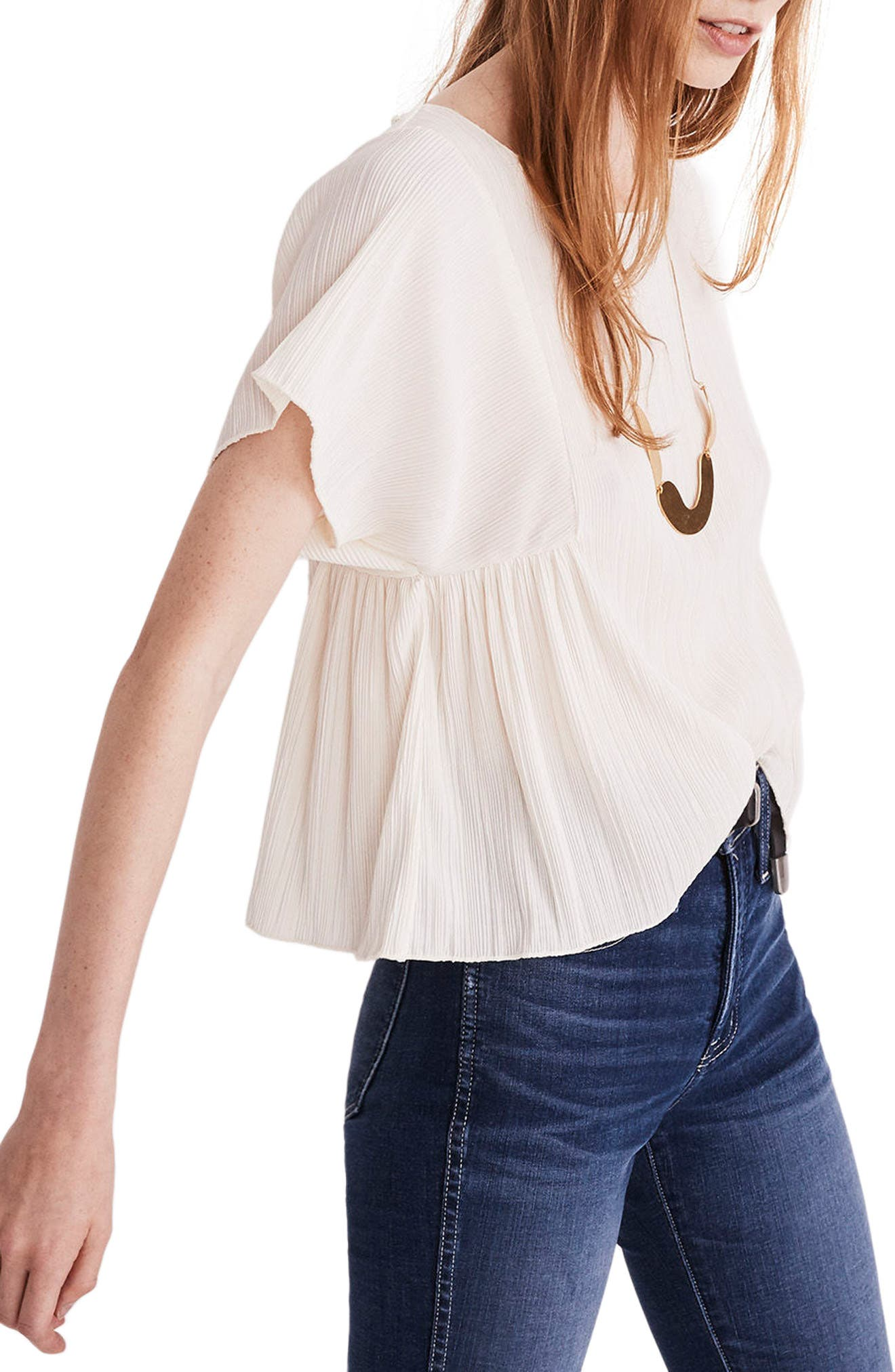 Micropleat Top,                             Alternate thumbnail 13, color,
