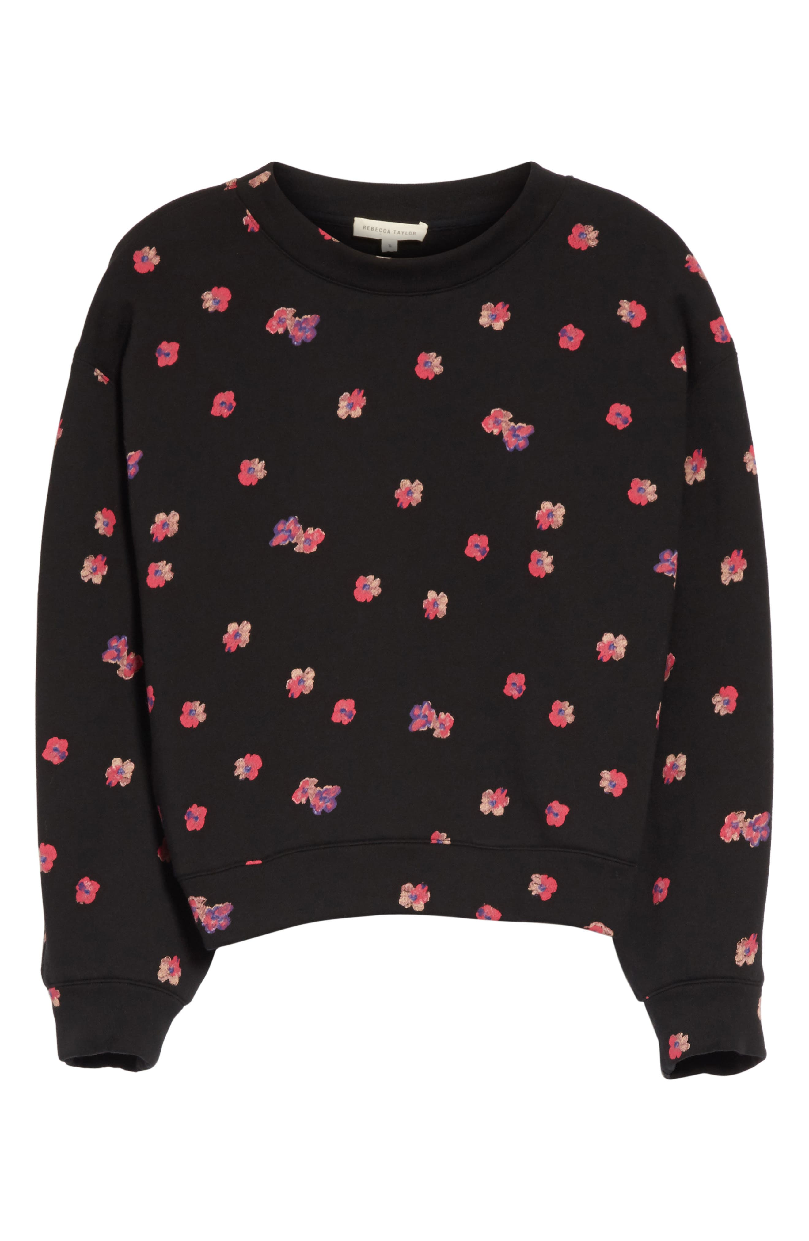 Floriana Floral Sweatshirt,                             Alternate thumbnail 6, color,