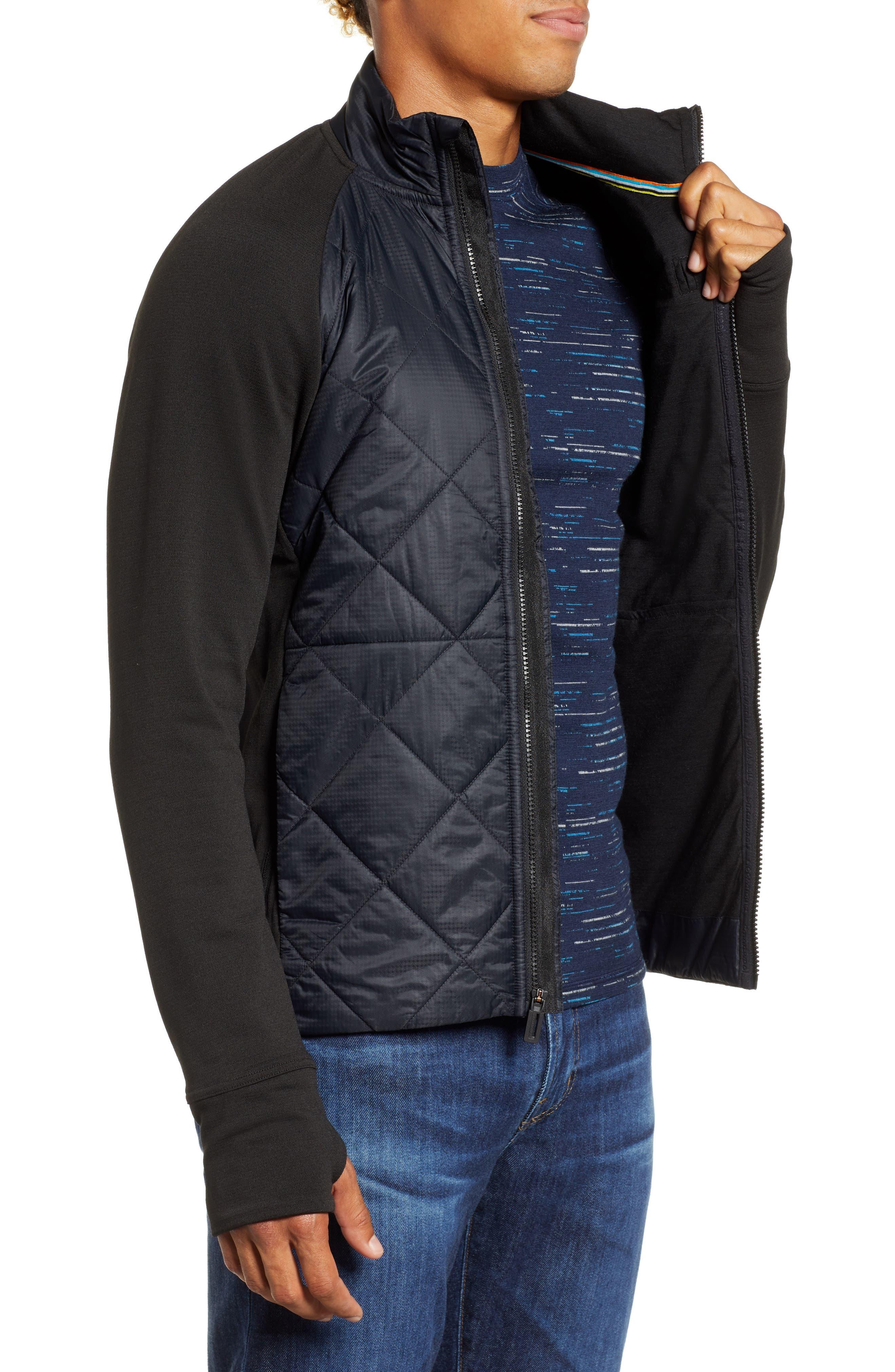 Regular Fit SmartLoft 120 Jacket,                             Alternate thumbnail 3, color,                             BLACK
