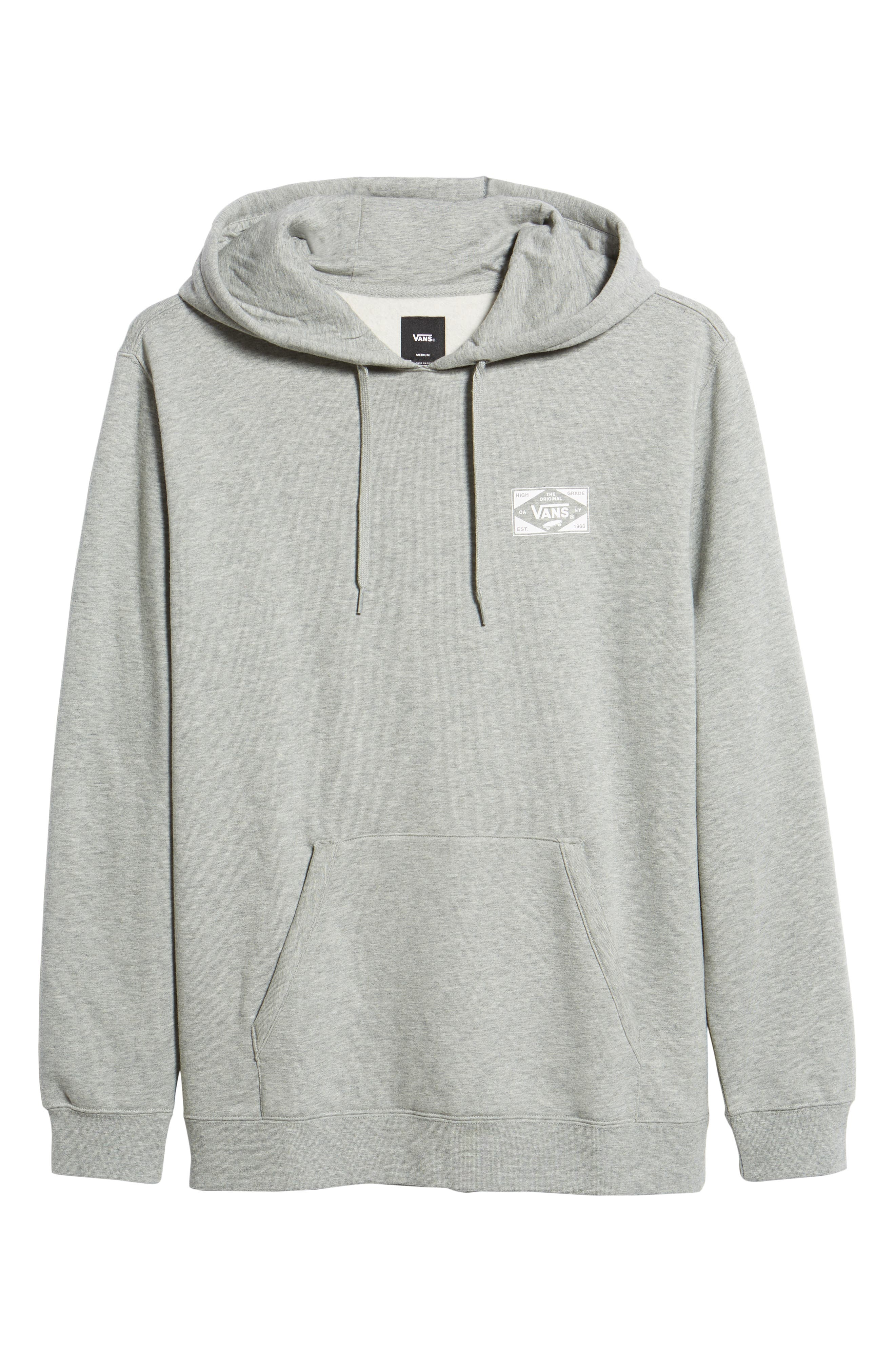 Best in Class Hooded Sweatshirt,                             Alternate thumbnail 6, color,                             CEMENT HEATHER