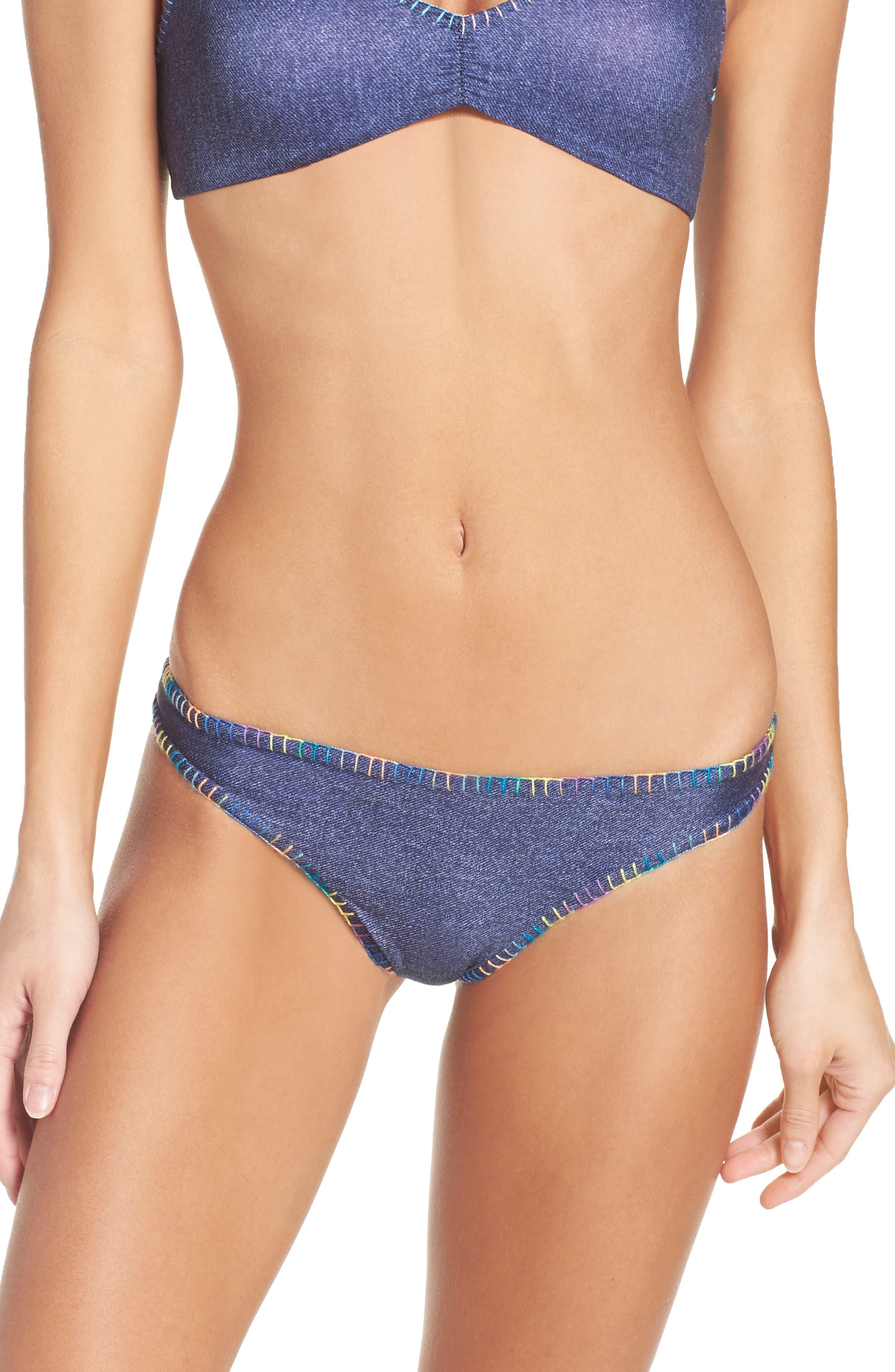 Reversible Bikini Bottoms,                             Main thumbnail 1, color,                             416