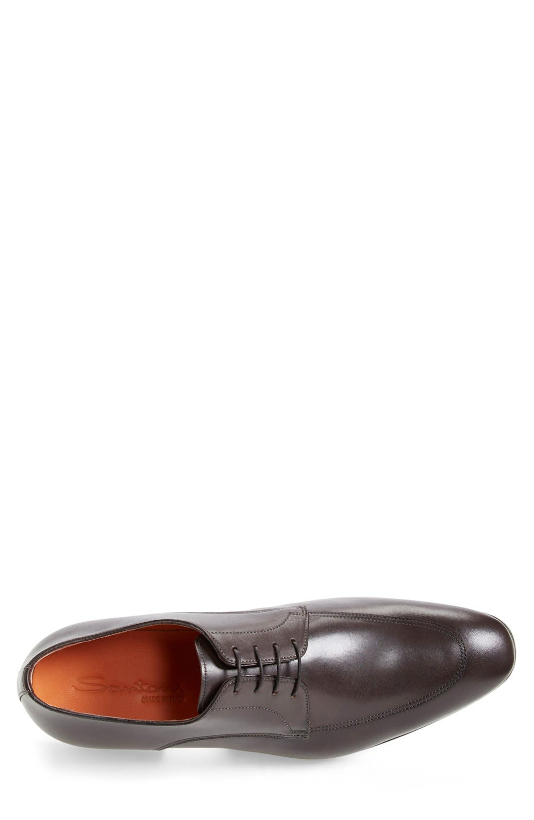 'Atwood' Apron Toe Derby,                             Alternate thumbnail 6, color,
