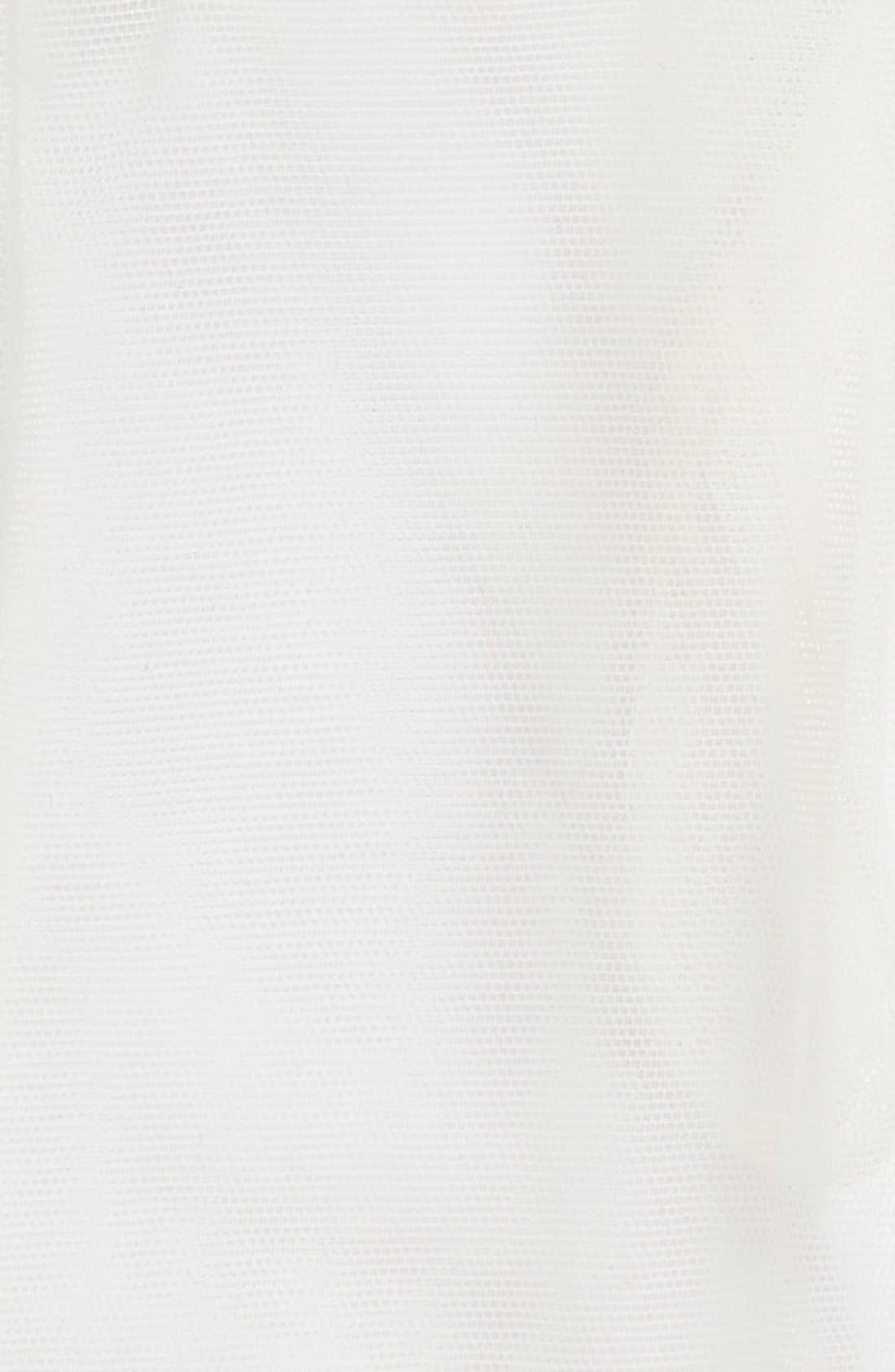 Rosa Clara Lace Trim Tulle Gloves,                             Alternate thumbnail 2, color,                             100