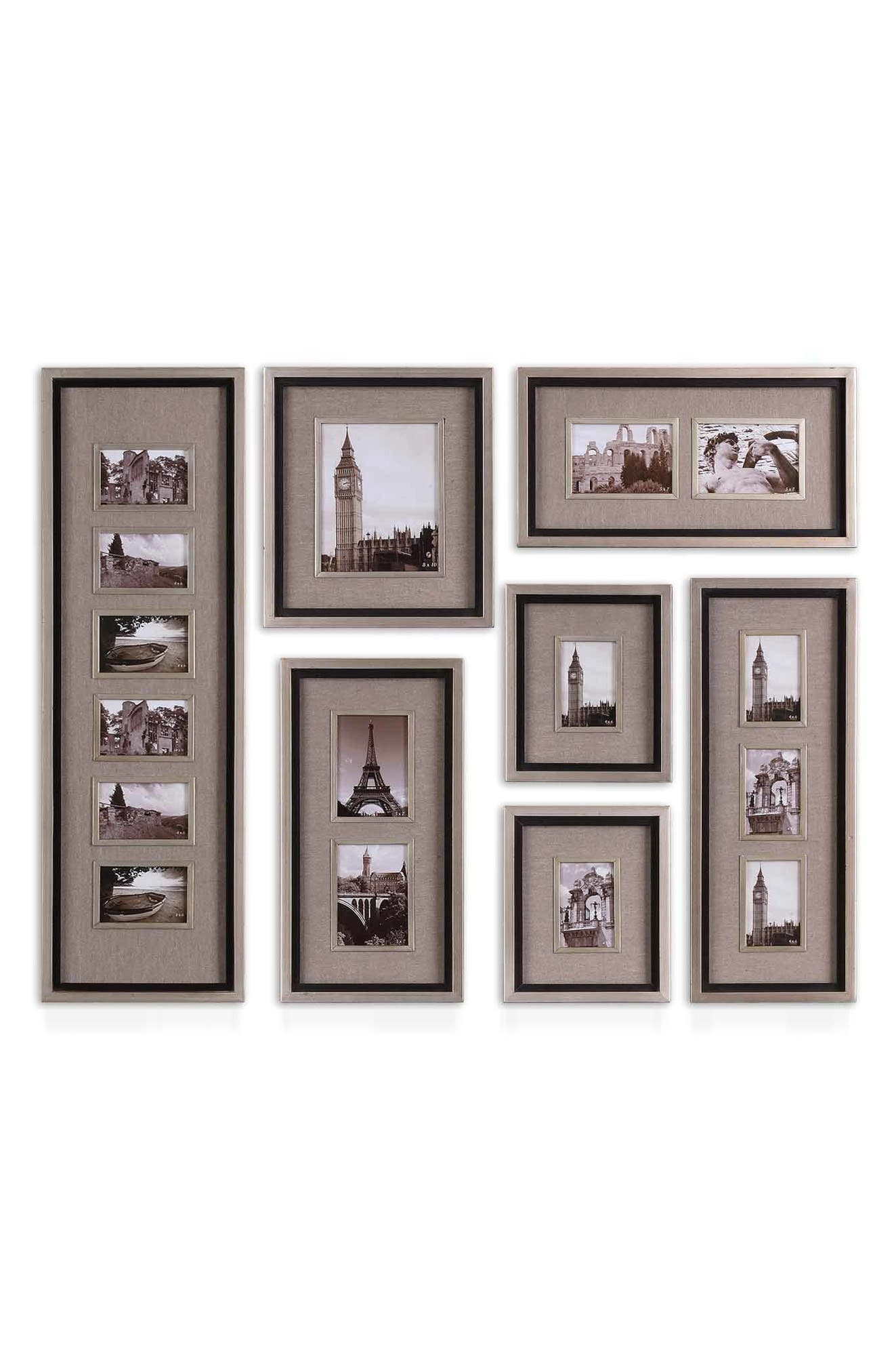 Massena Set of 7 Picture Frames,                             Alternate thumbnail 4, color,                             020