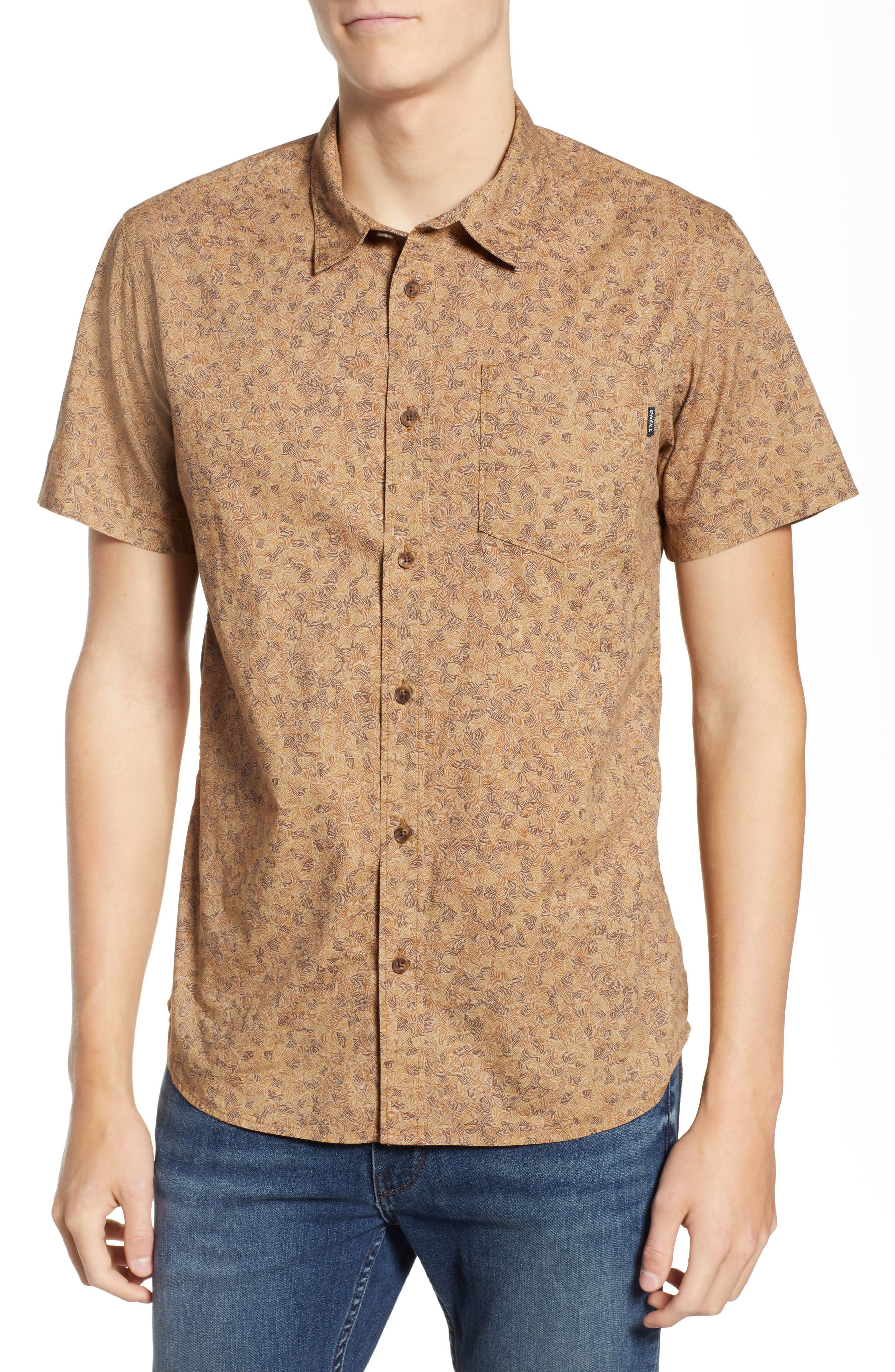 Structure Woven Shirt,                         Main,                         color, 213