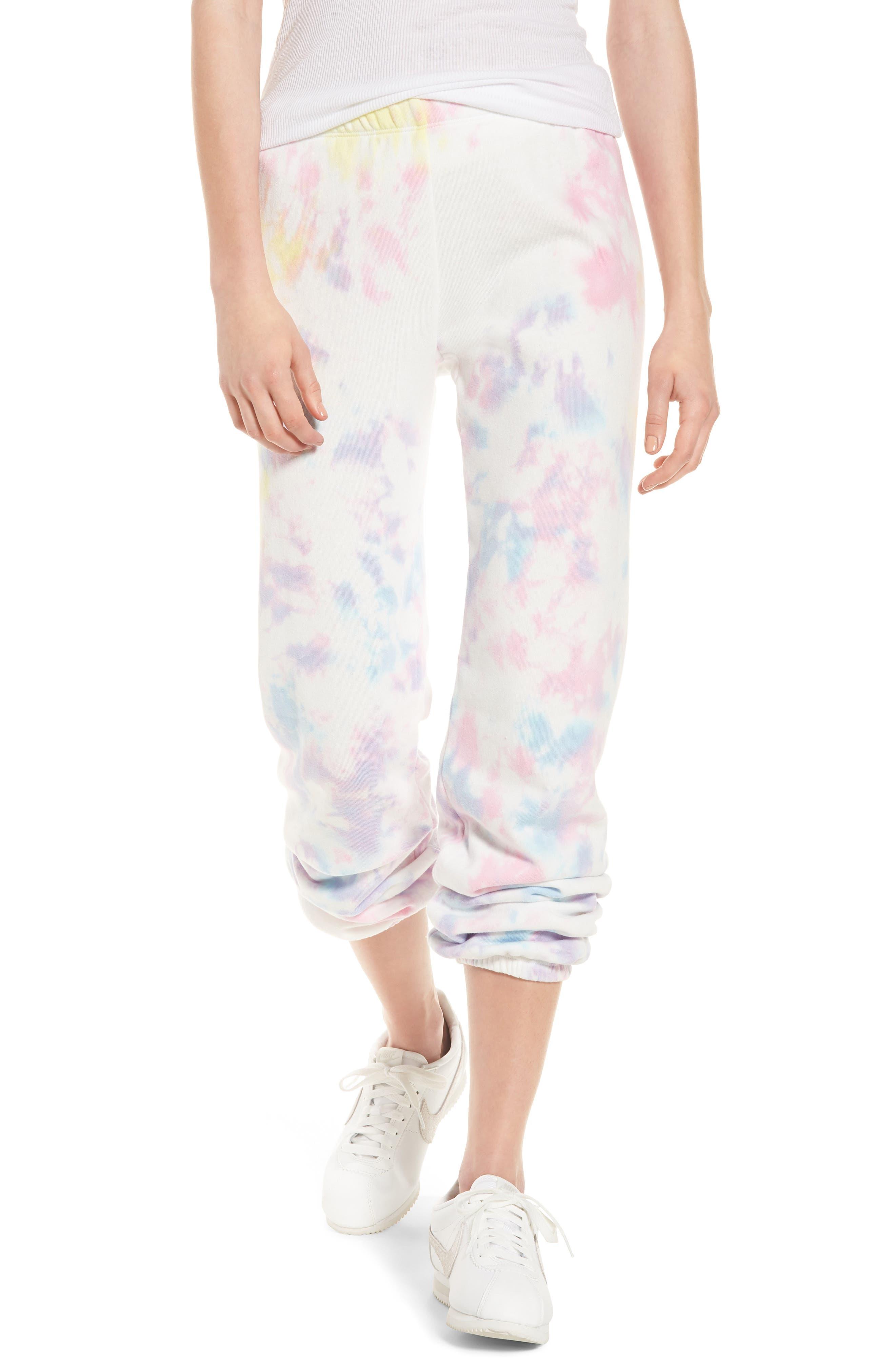 Aura Tie Dye Easy Sweatpants,                             Main thumbnail 1, color,                             660