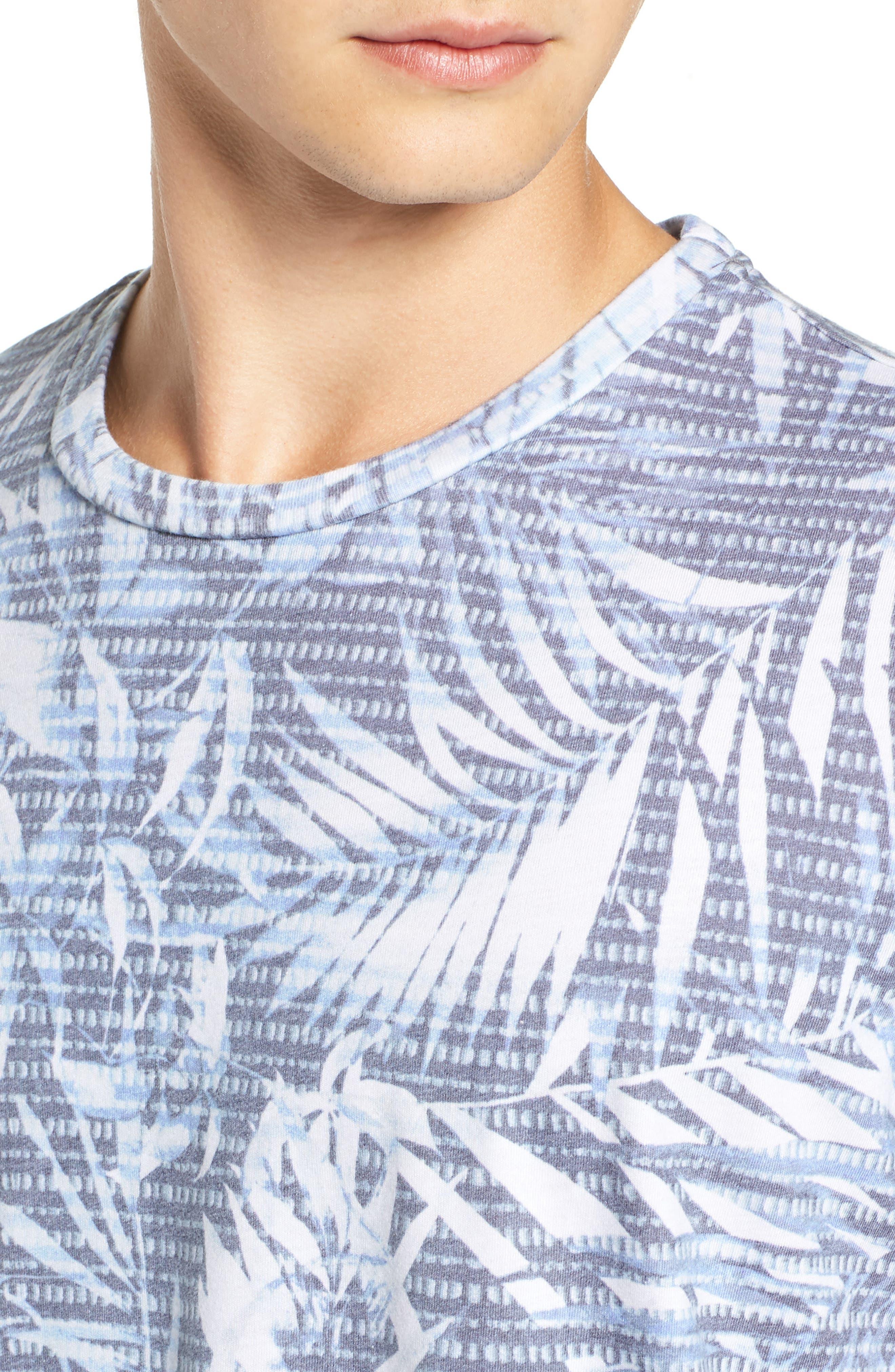 Twilight Floral T-Shirt,                             Alternate thumbnail 4, color,                             400