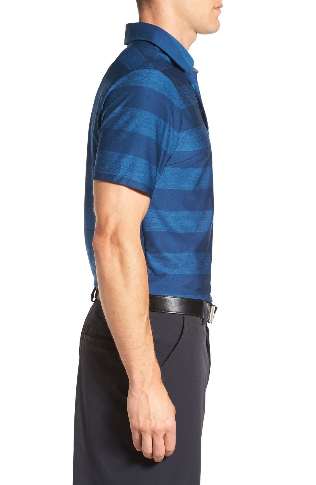 'Playoff' Loose Fit Short Sleeve Polo,                             Alternate thumbnail 276, color,