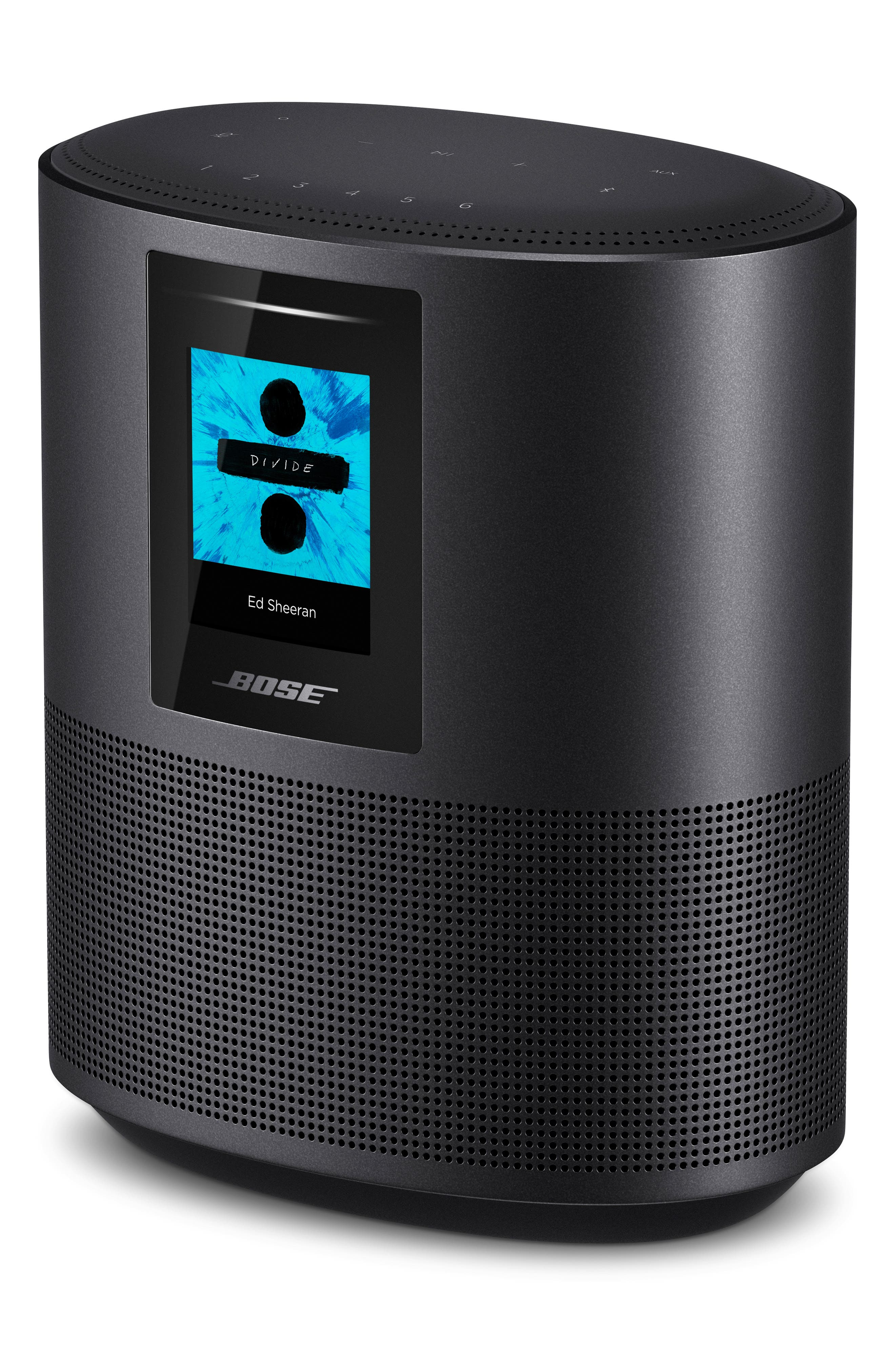 Home 500 Bluetooth<sup>®</sup> Speaker,                             Alternate thumbnail 3, color,                             BLACK