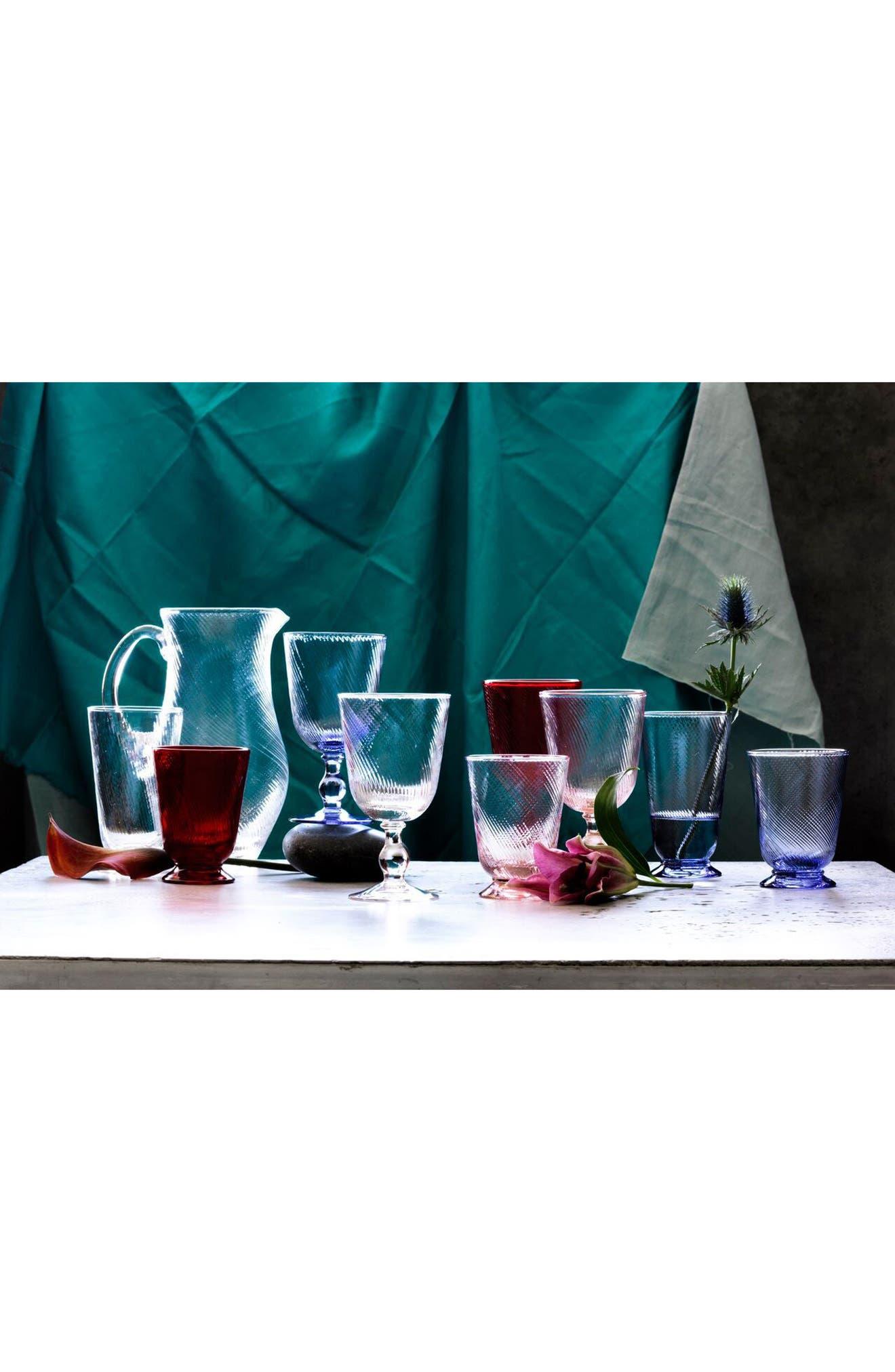 'Arabella' Glass Pitcher,                             Alternate thumbnail 3, color,                             100