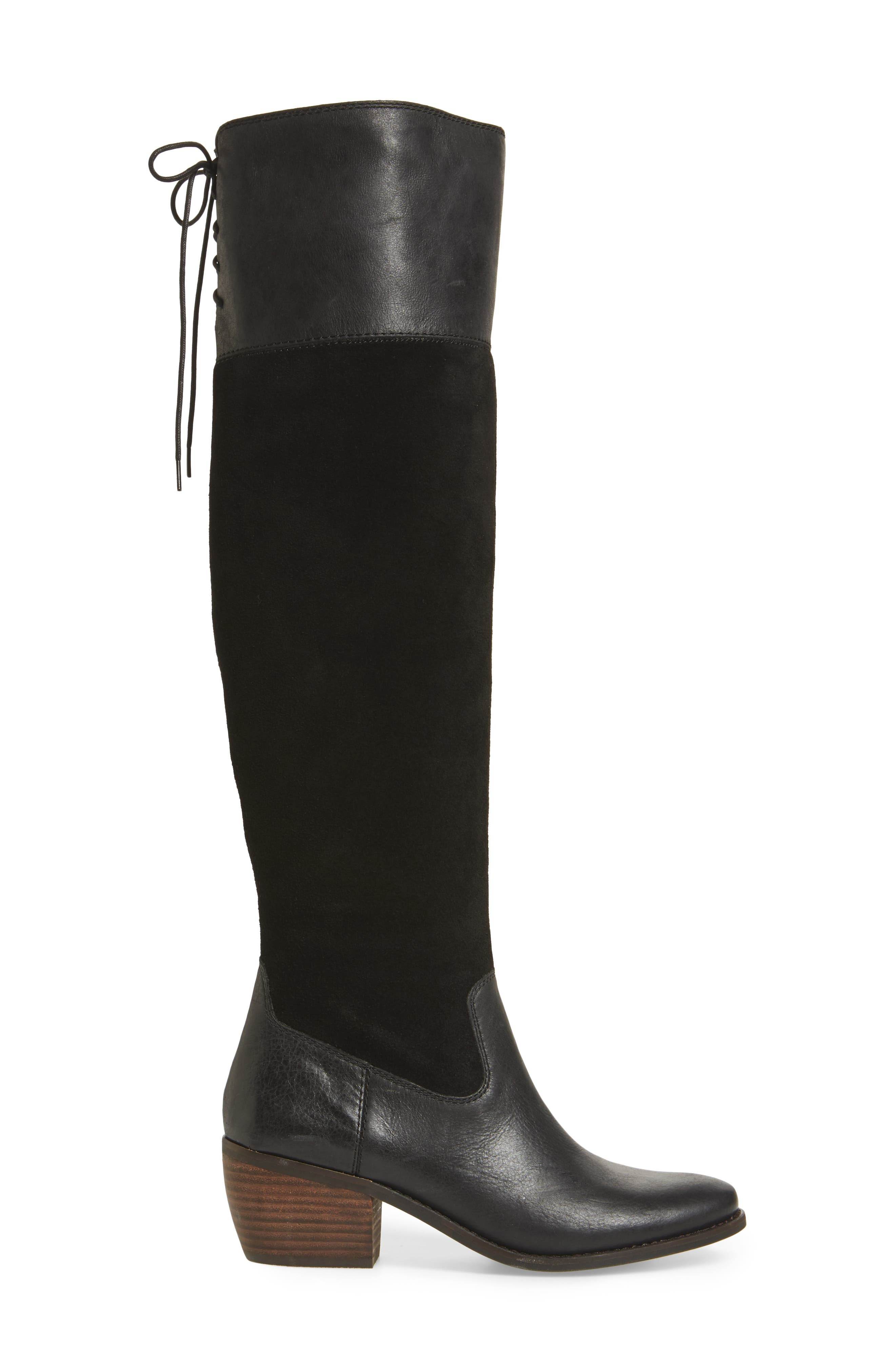 Komah Over the Knee Boot,                             Alternate thumbnail 3, color,                             001