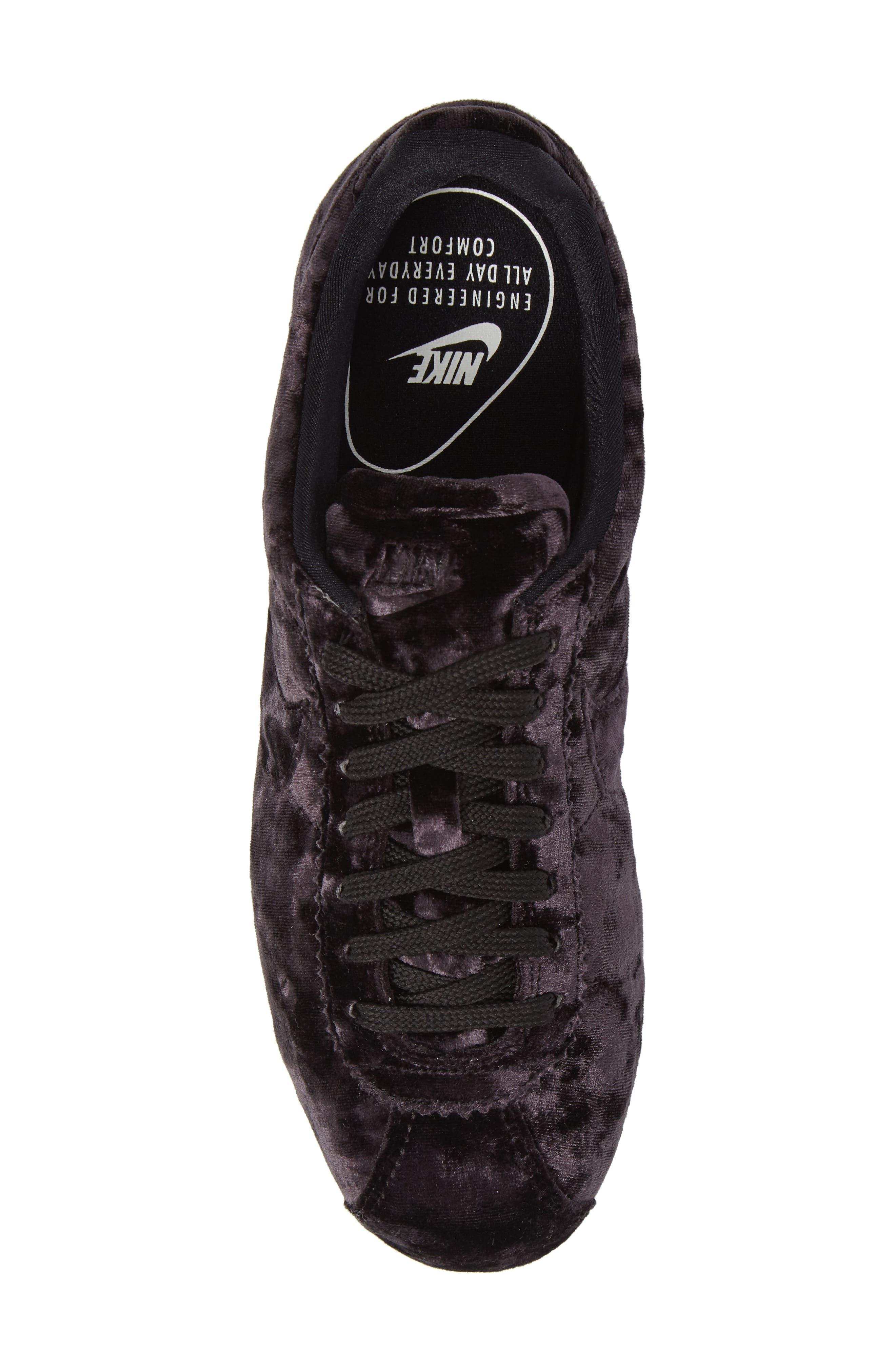 Cortez Classic LX Sneaker,                             Alternate thumbnail 5, color,                             001