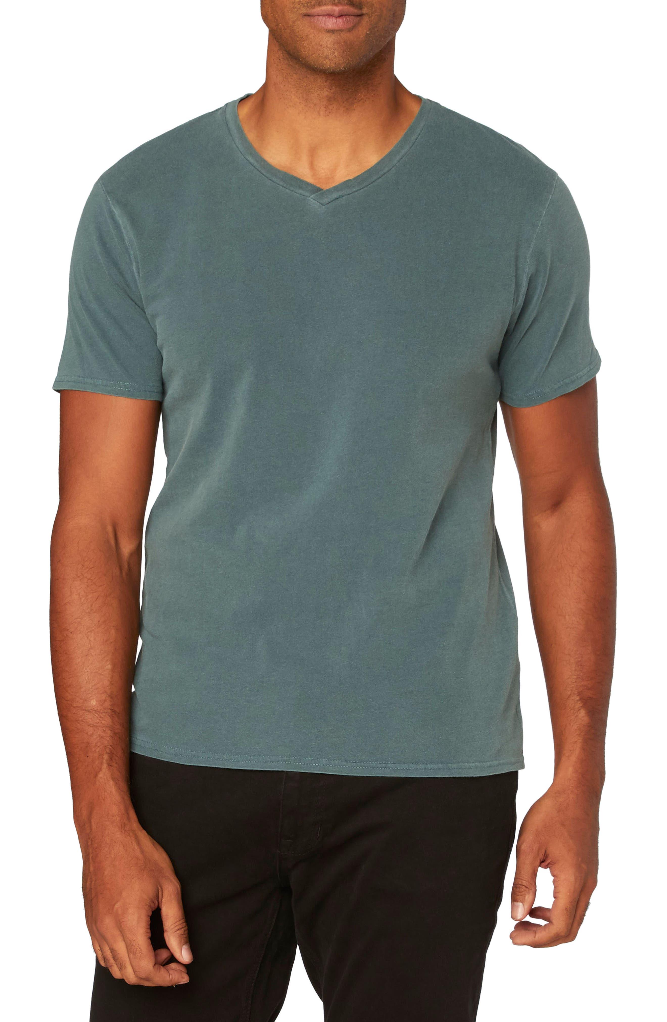 Standard V-Neck T-Shirt,                             Main thumbnail 4, color,