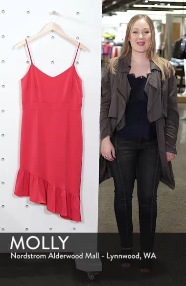 Asymmetric Ruffle Hem Dress, sales video thumbnail