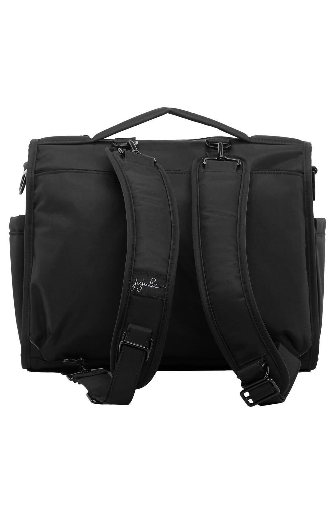 'BFF - Onyx Collection' Diaper Bag,                             Alternate thumbnail 2, color,                             BLACK OUT