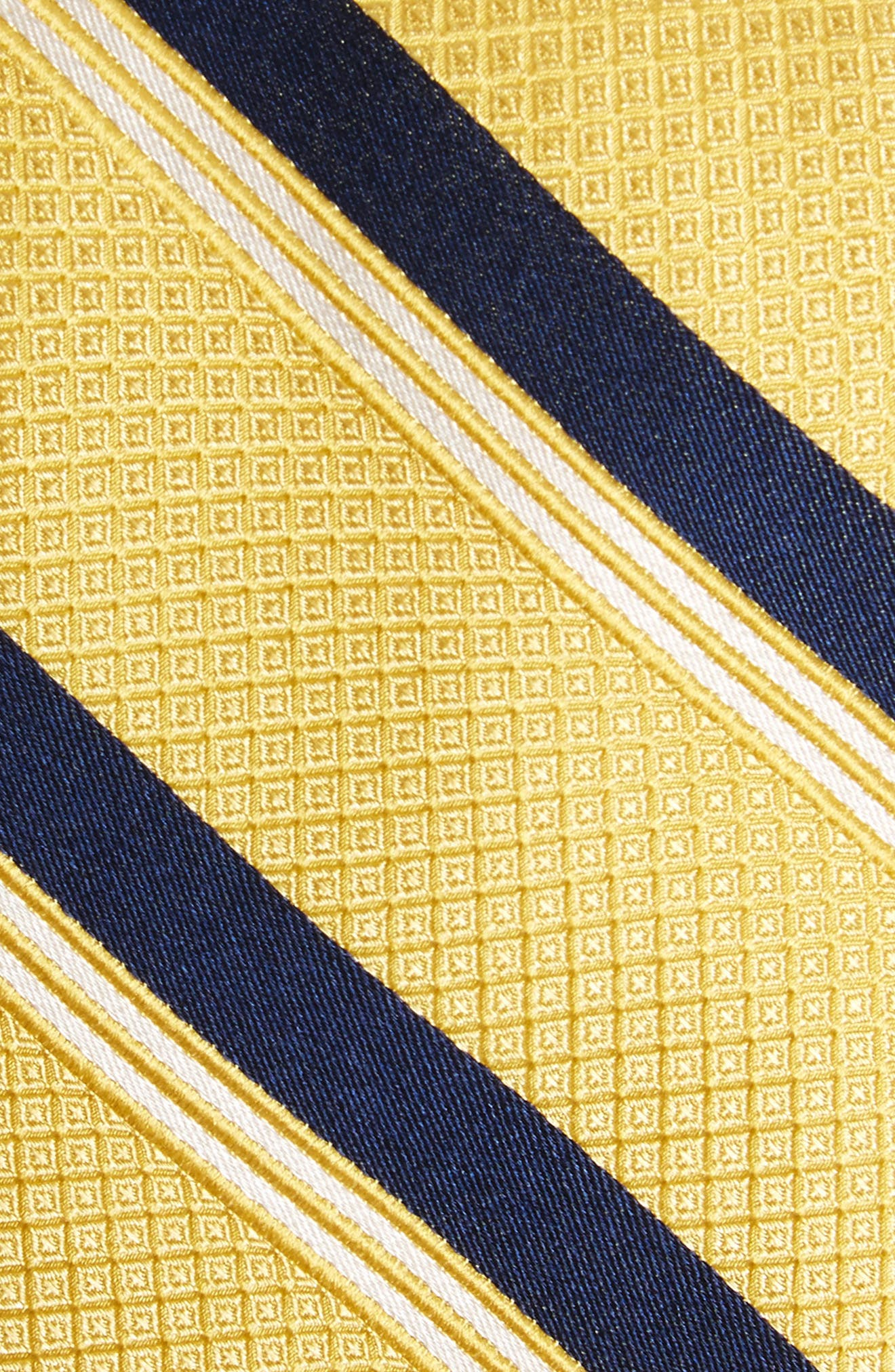 Stripe Silk Tie,                             Alternate thumbnail 9, color,