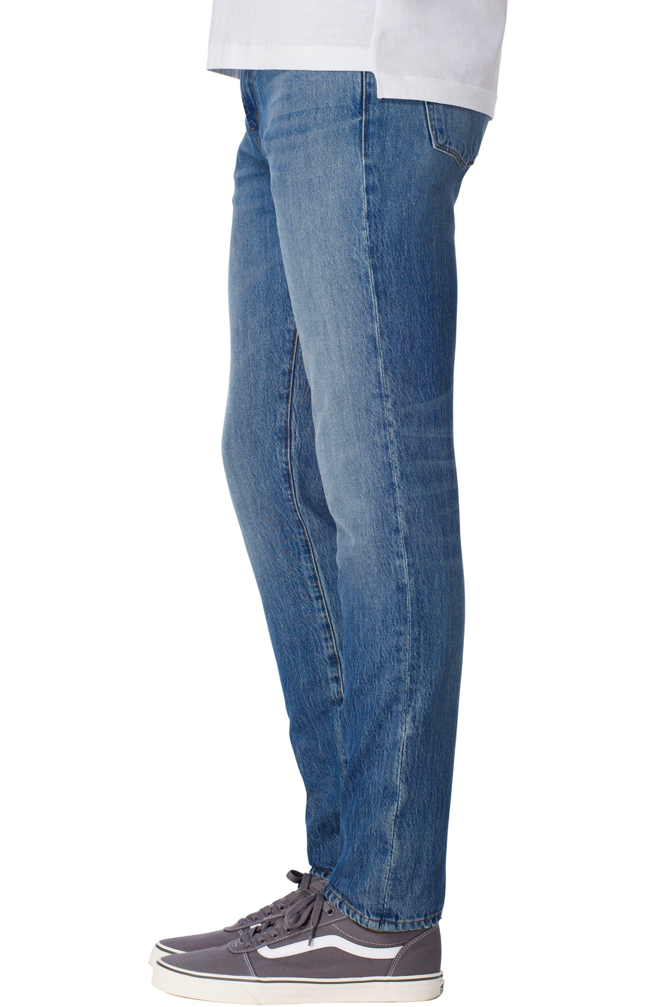 Tyler Slim Fit Jeans,                             Alternate thumbnail 3, color,                             451