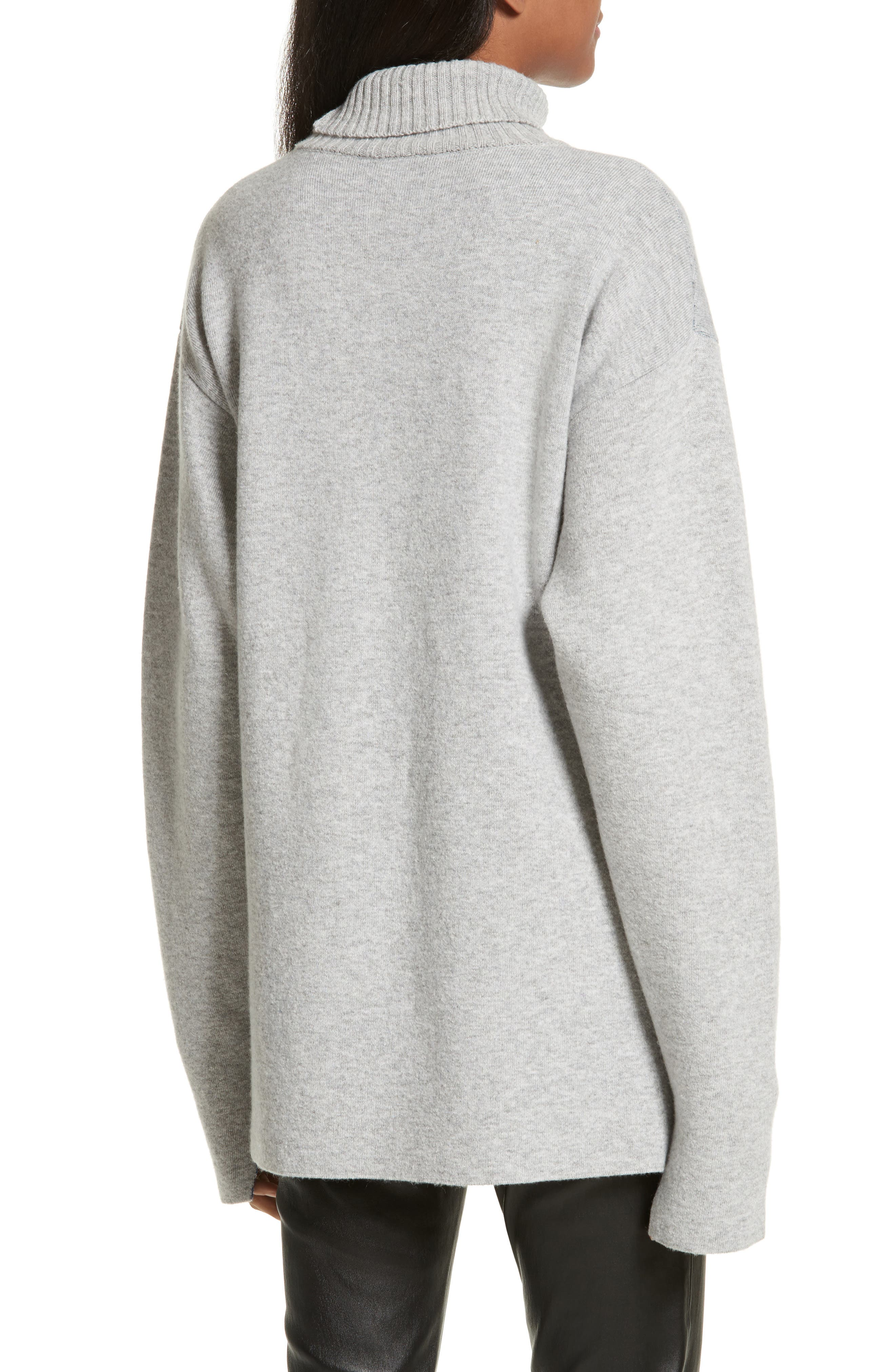 Double-Face Wool Blend Pocket Sweater,                             Alternate thumbnail 2, color,                             477