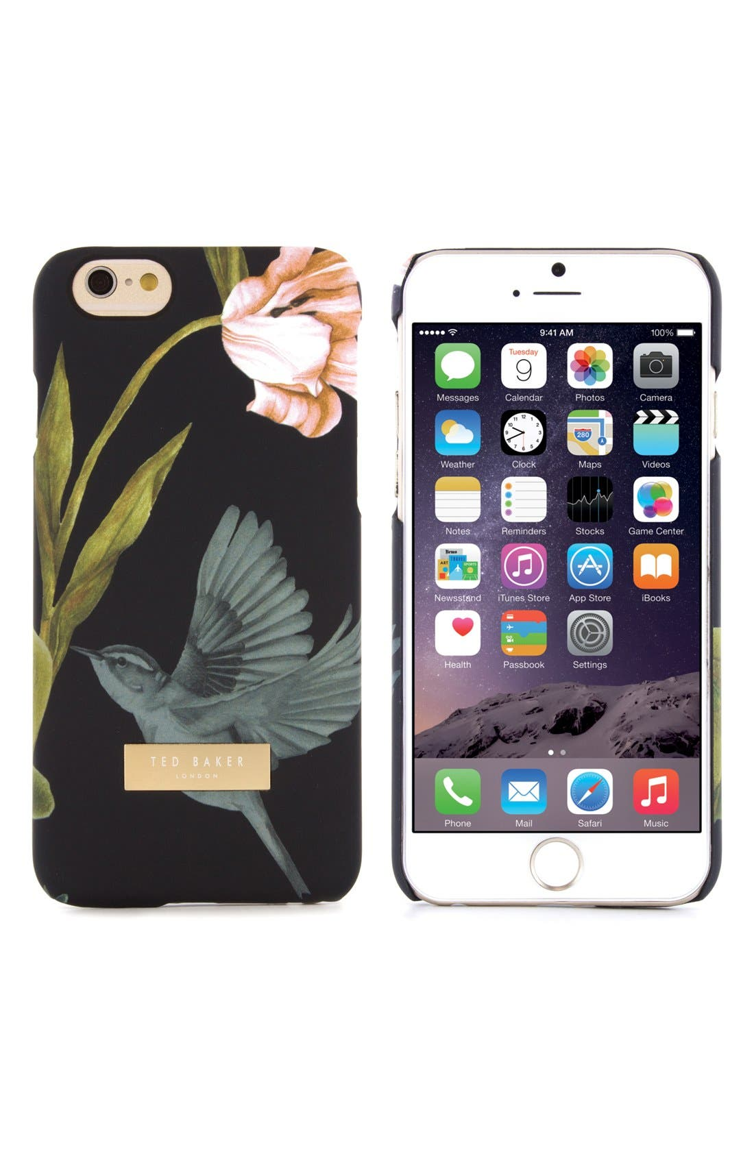 TED BAKER LONDON,                             Dobos iPhone 6/6s Case,                             Main thumbnail 1, color,                             001