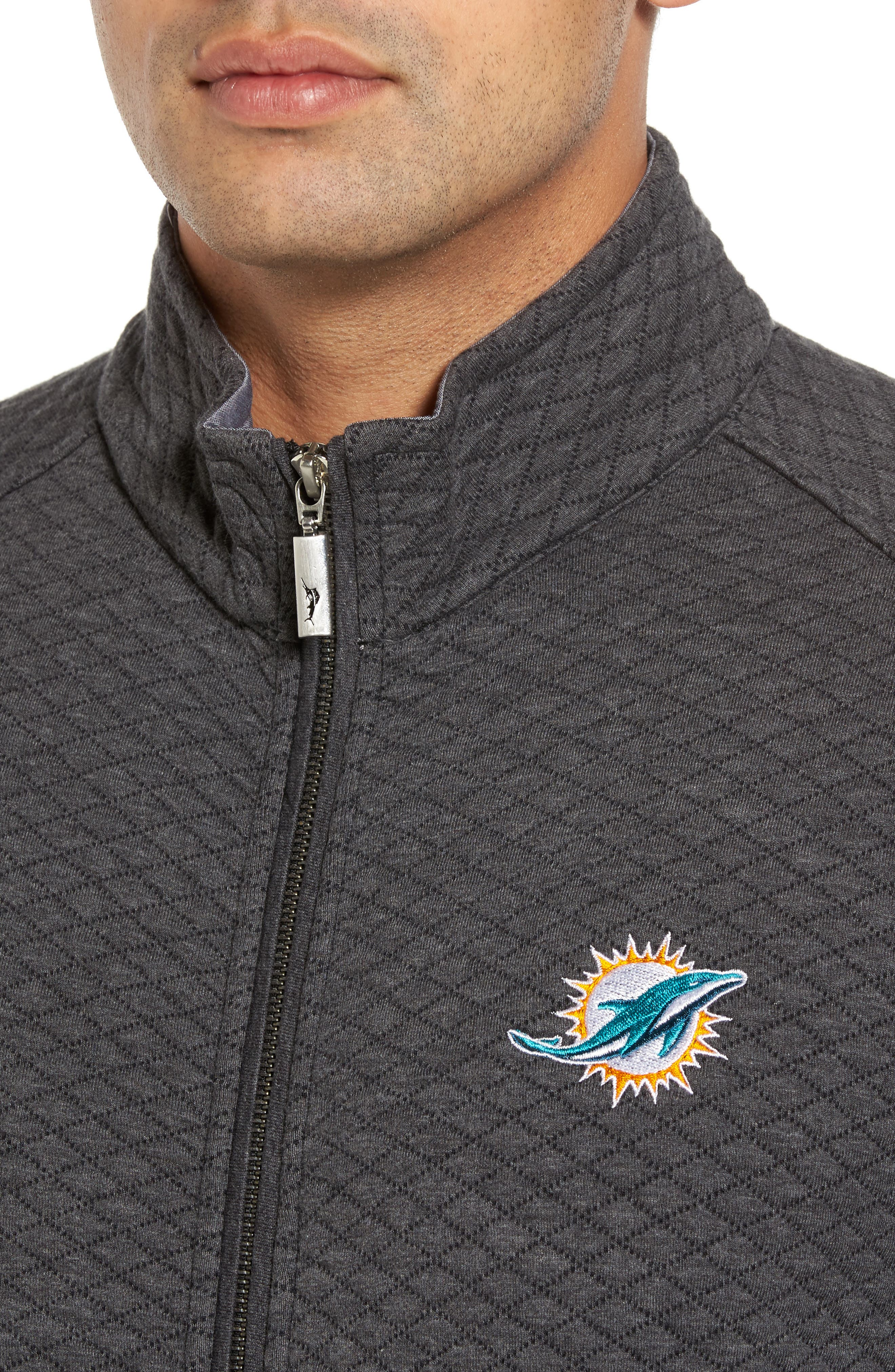 NFL Quiltessential Full Zip Sweatshirt,                             Alternate thumbnail 106, color,