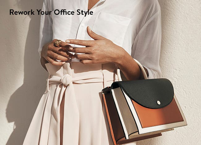 Rework your office style: work attire for women.